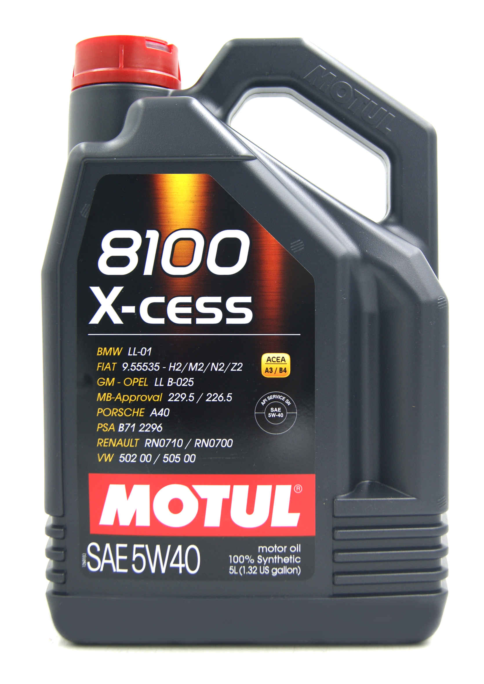Motul 8100 X-Cess 5W-40 5L Olej Syntetyczny
