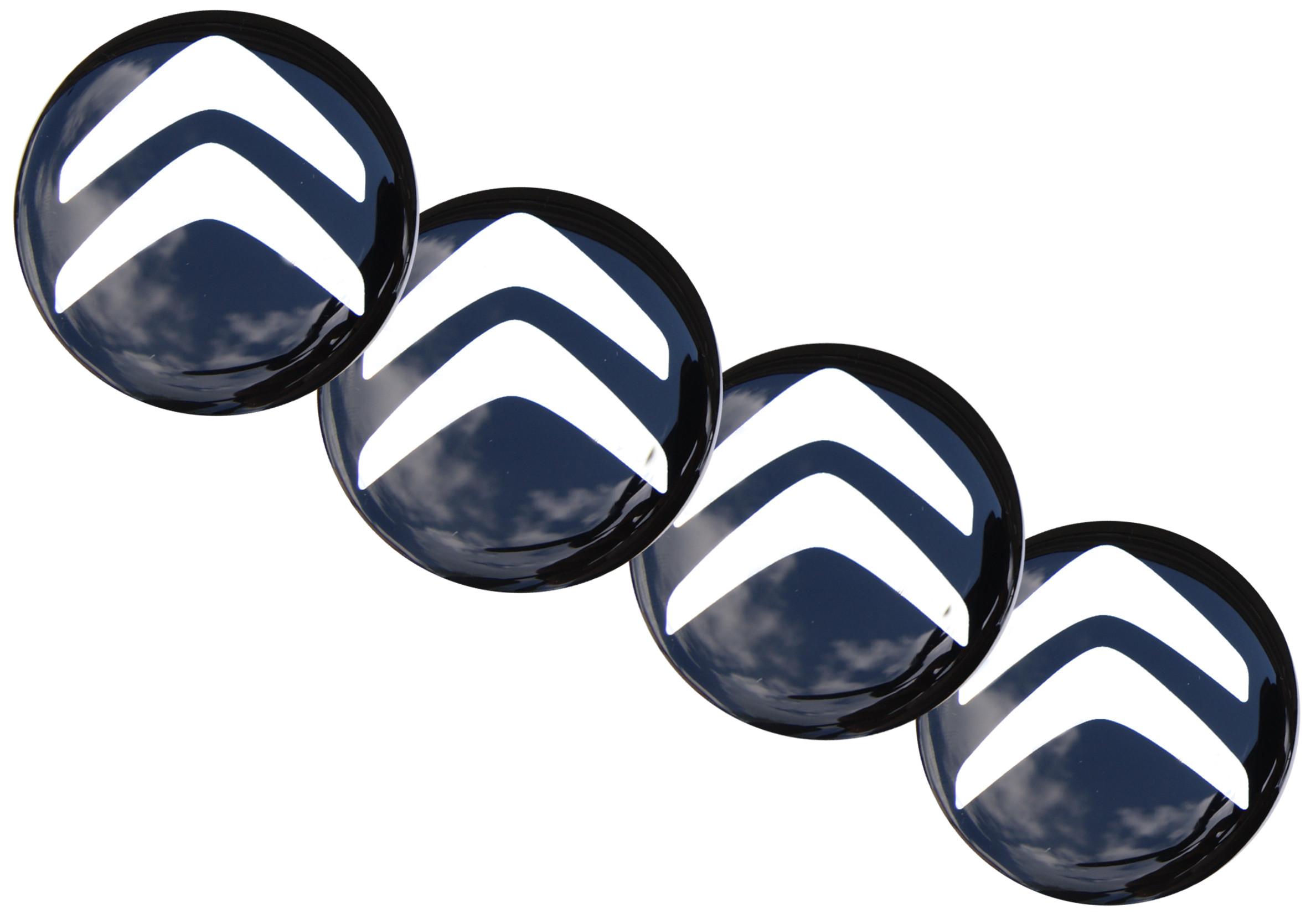Emblematy Naklejki Wypukłe Citroen 70 mm 4szt