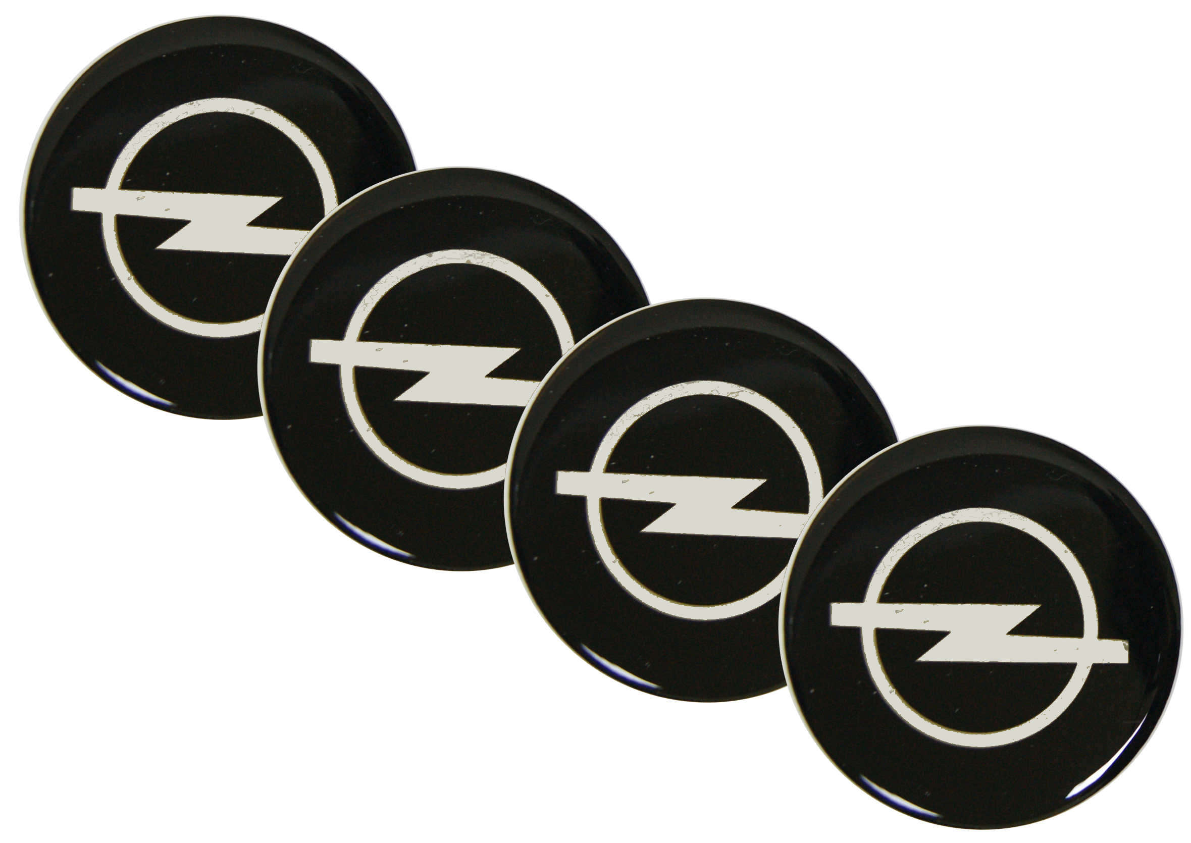 Naklejki wypukłe Emblematy Opel 70 mm 4szt