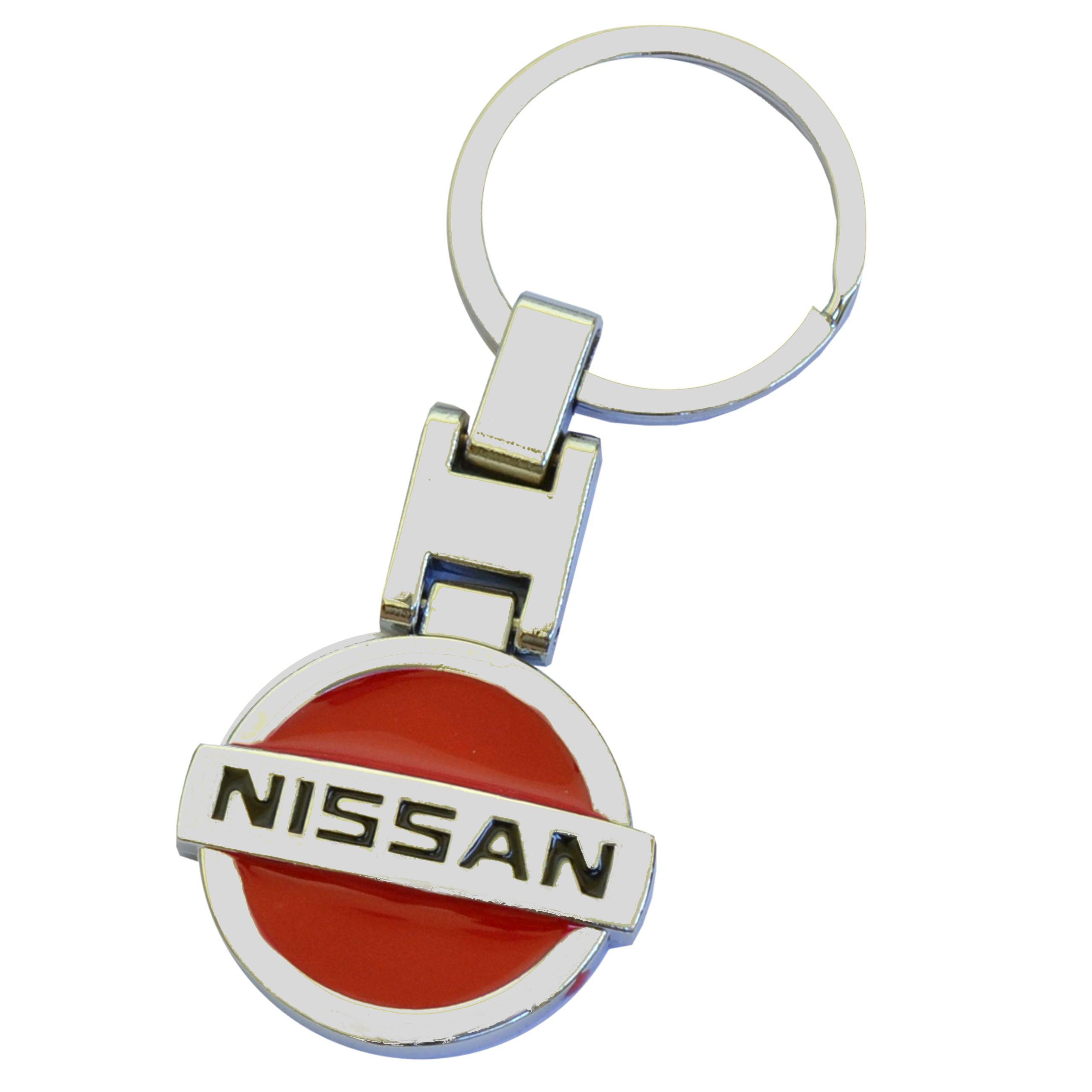 Breloczek Metalowy do Kluczyków samochodowych Nissan