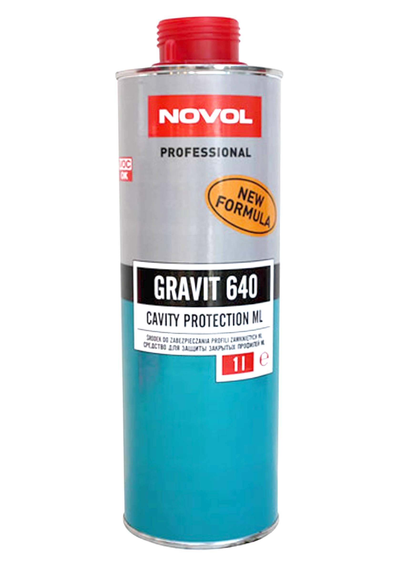 Preparat do konserwacji profili zamkniętych 1kg na pistolet Novol Gravit 640