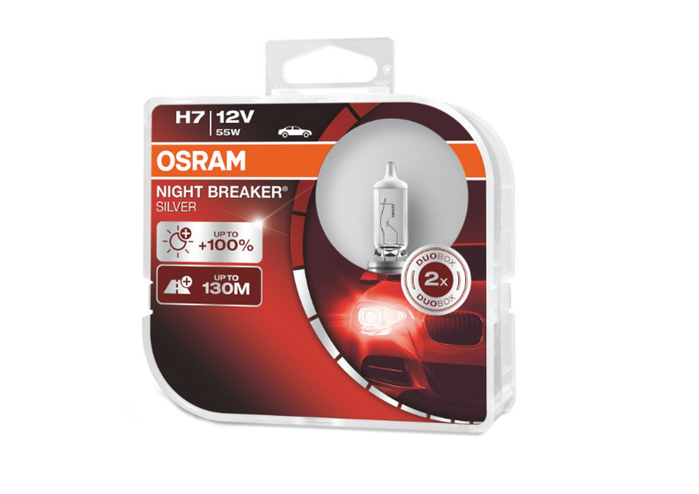 Osram Night Breaker Silver H7 12V 55W 2szt.