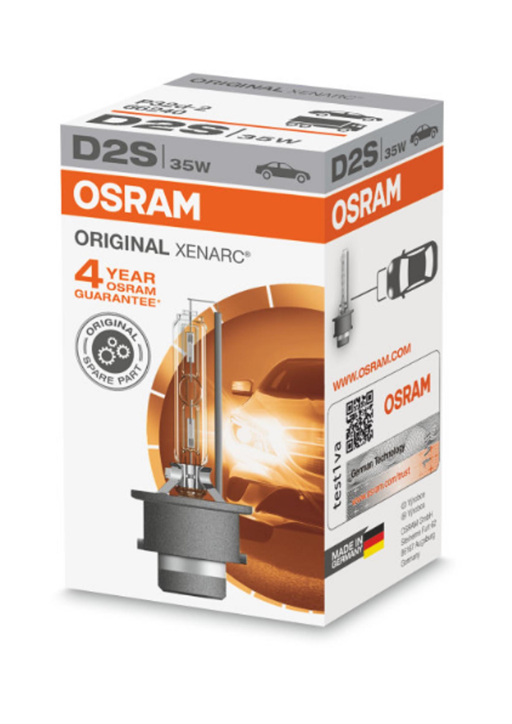 Osram Xenarc Original D2S 85V 35W 1szt Żarnik Ksenonowy