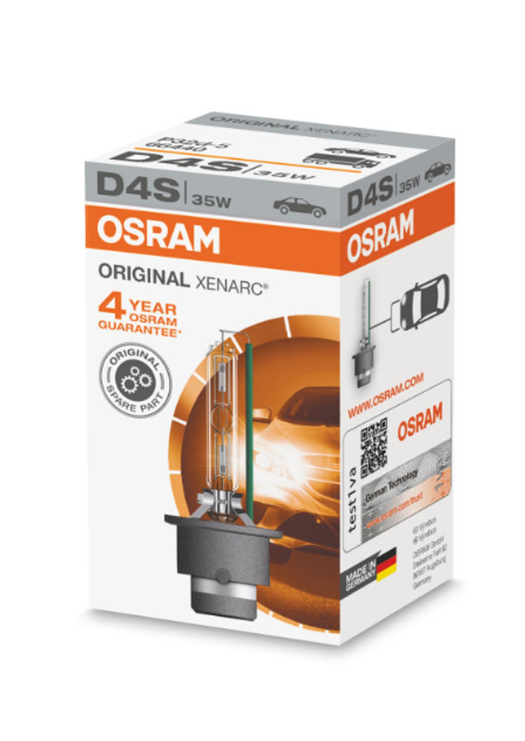 Osram Xenarc Original D4S 42V 35W Żarnik 1szt