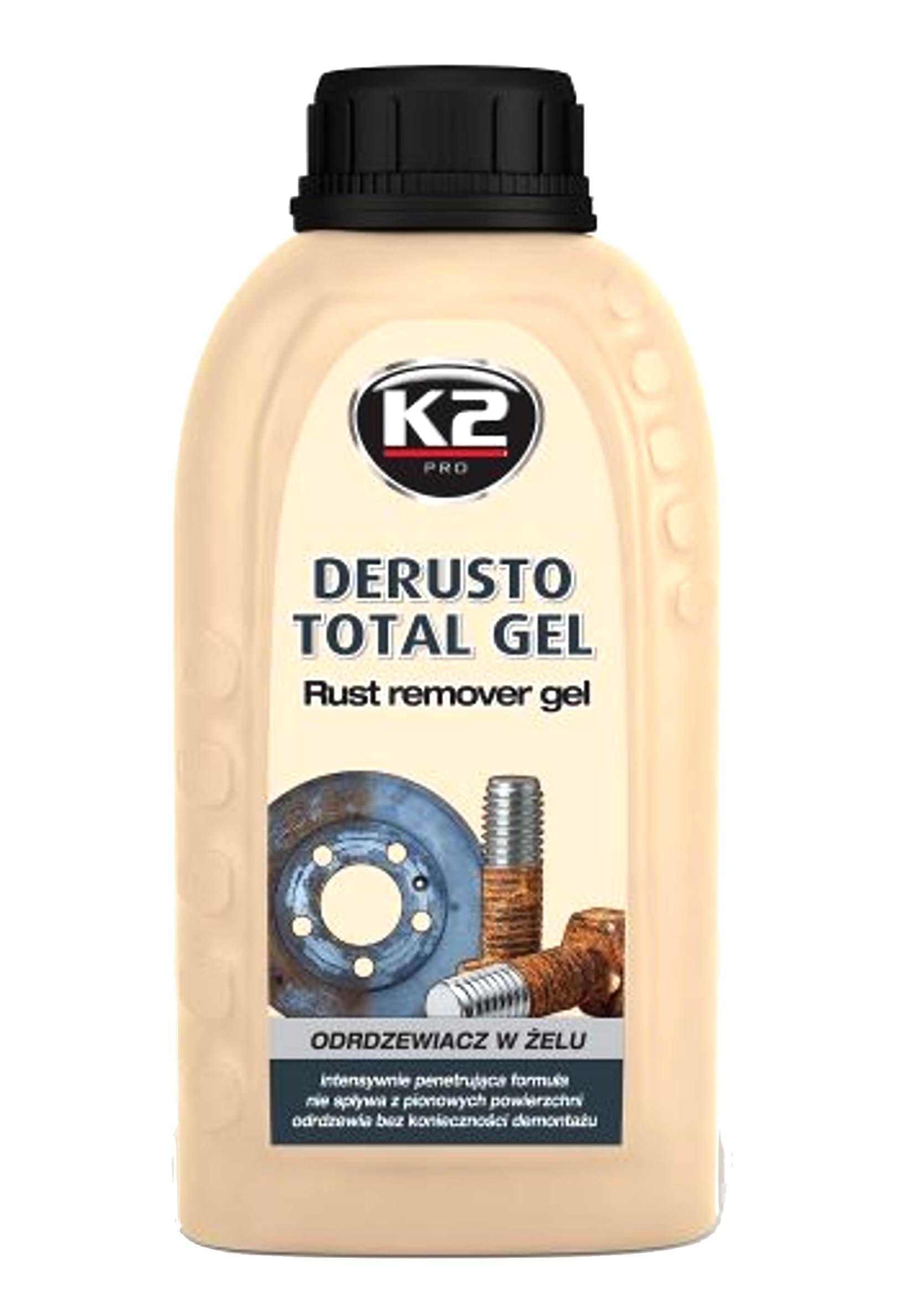 K2 Derusto Total Gel Odrdzewiacz w Żelu 250 ml