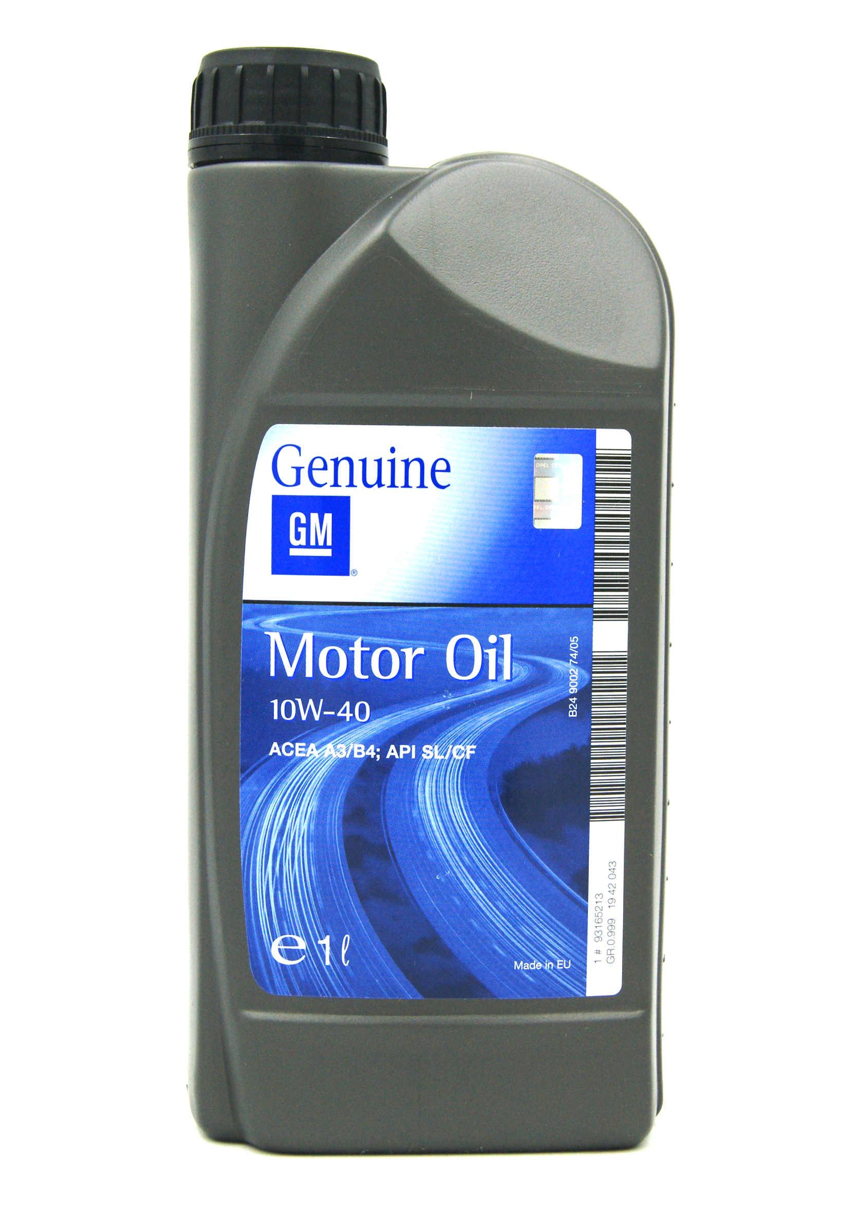Opel GM 10W40 1L Półsyntetyczny olej silnikowy