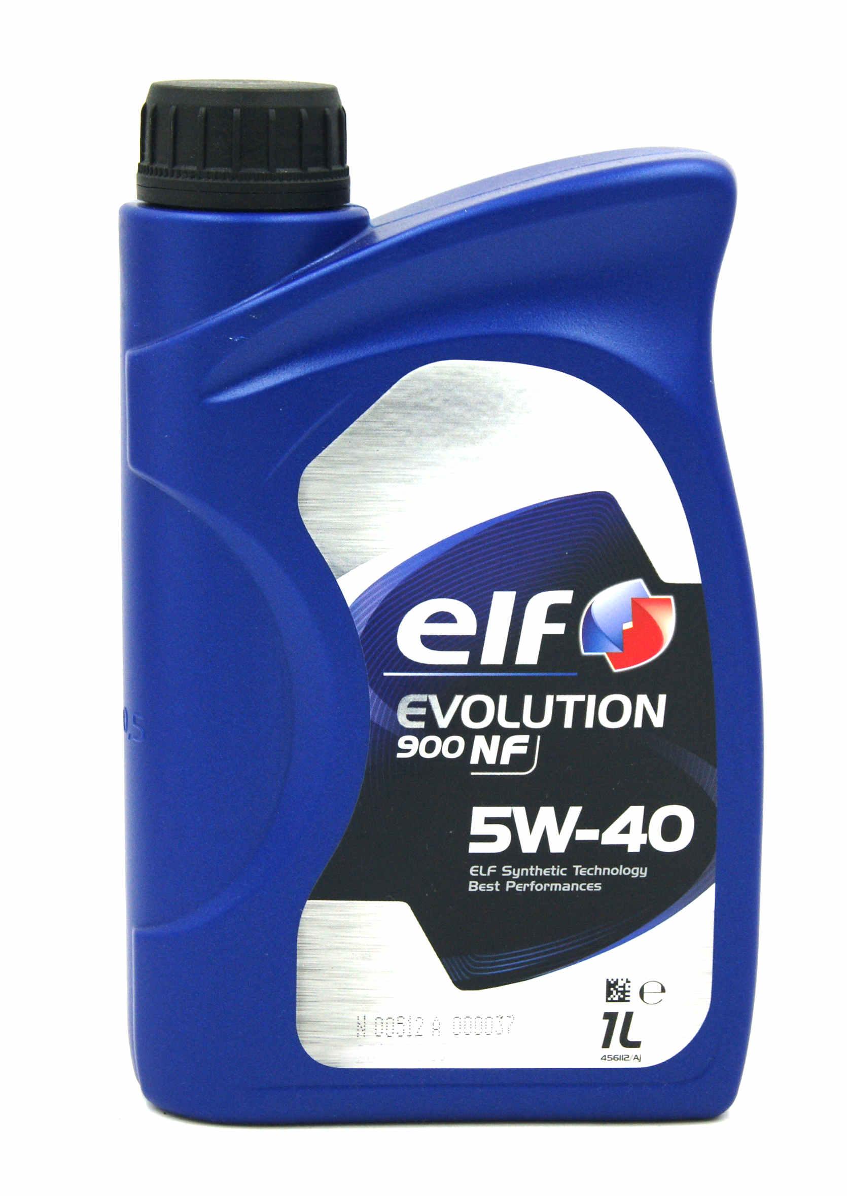 Elf Evolution 900 NF 5W40 1L Olej Silnikowy Syntetyczny
