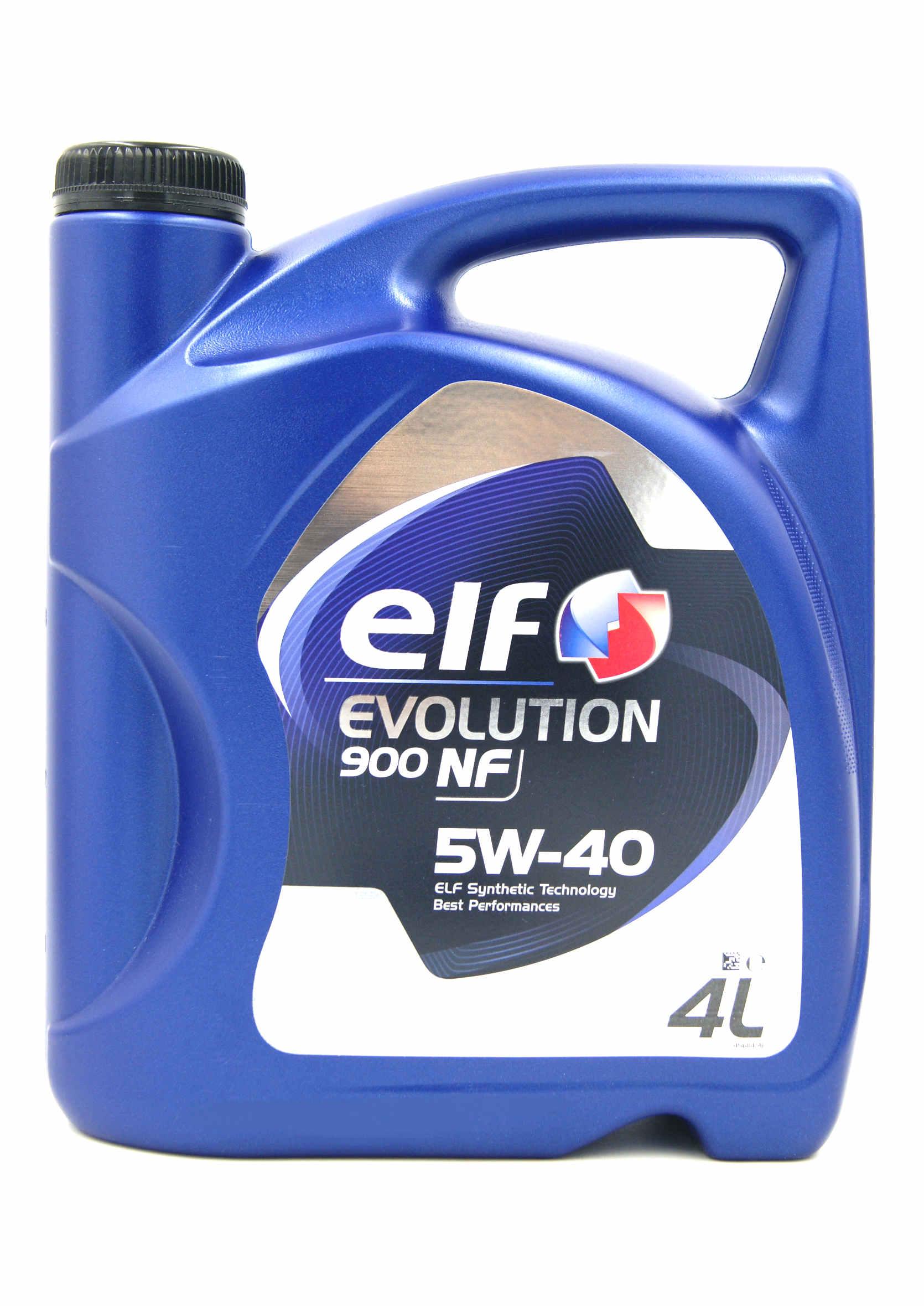 Elf Evolution 900 NF 5W40 4L Olej Silnikowy Syntetyczny
