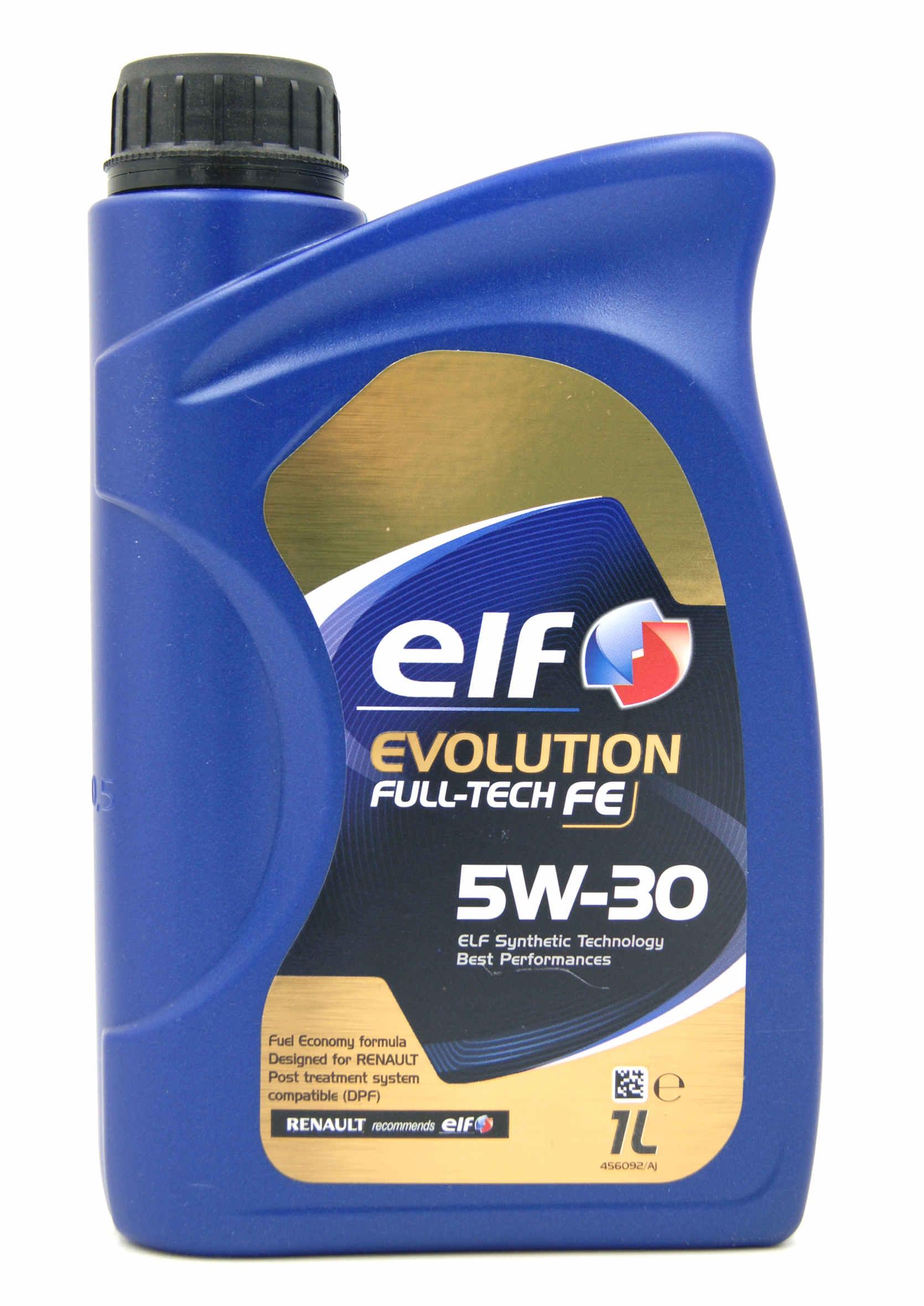 Elf Evolution Full-Tech FE 5W30 1L Olej Silnikowy Syntetyczny