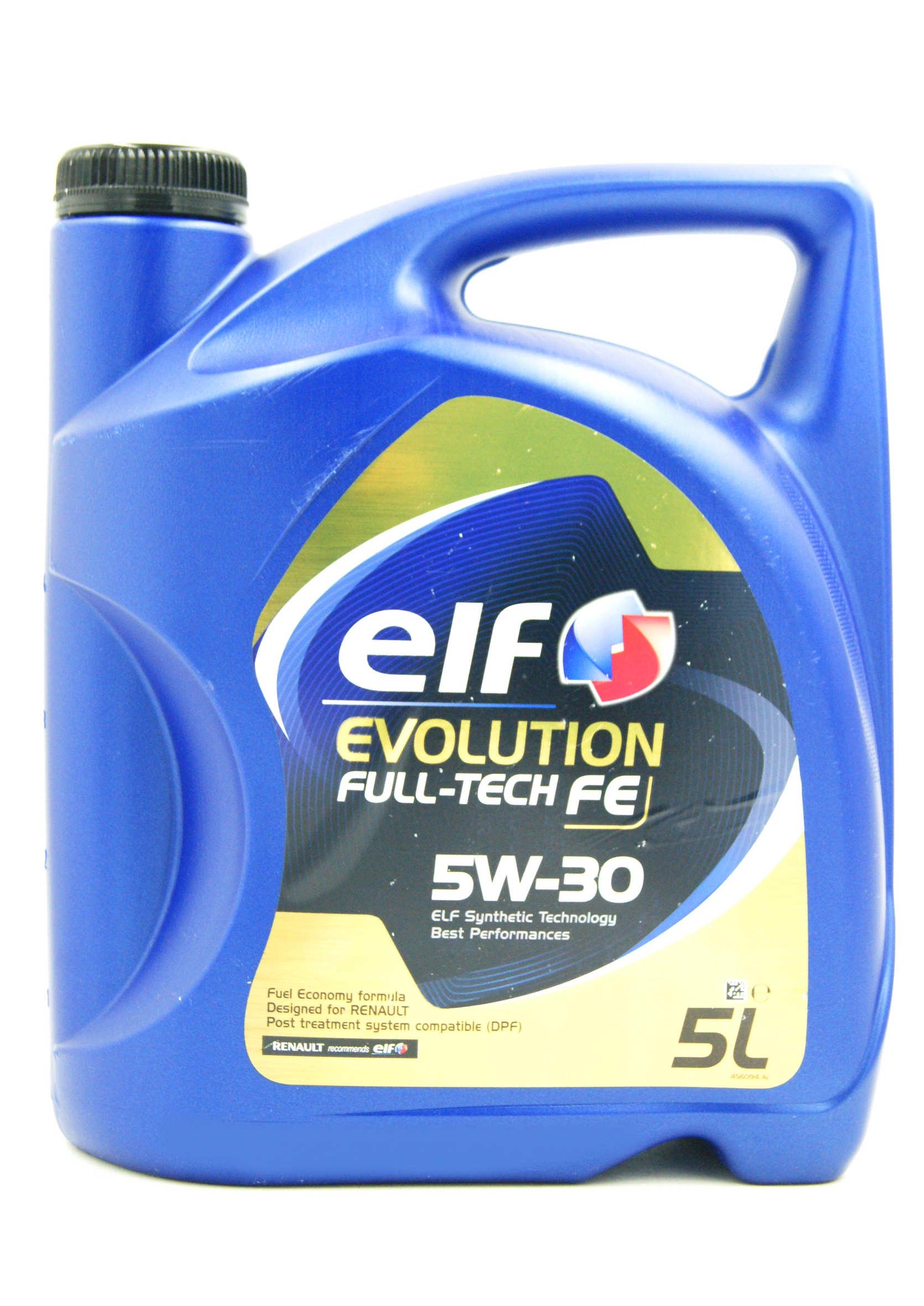 Elf Evolution 5W30 5L Full-Tech FE (Solaris) Olej Syntetyczny DPF