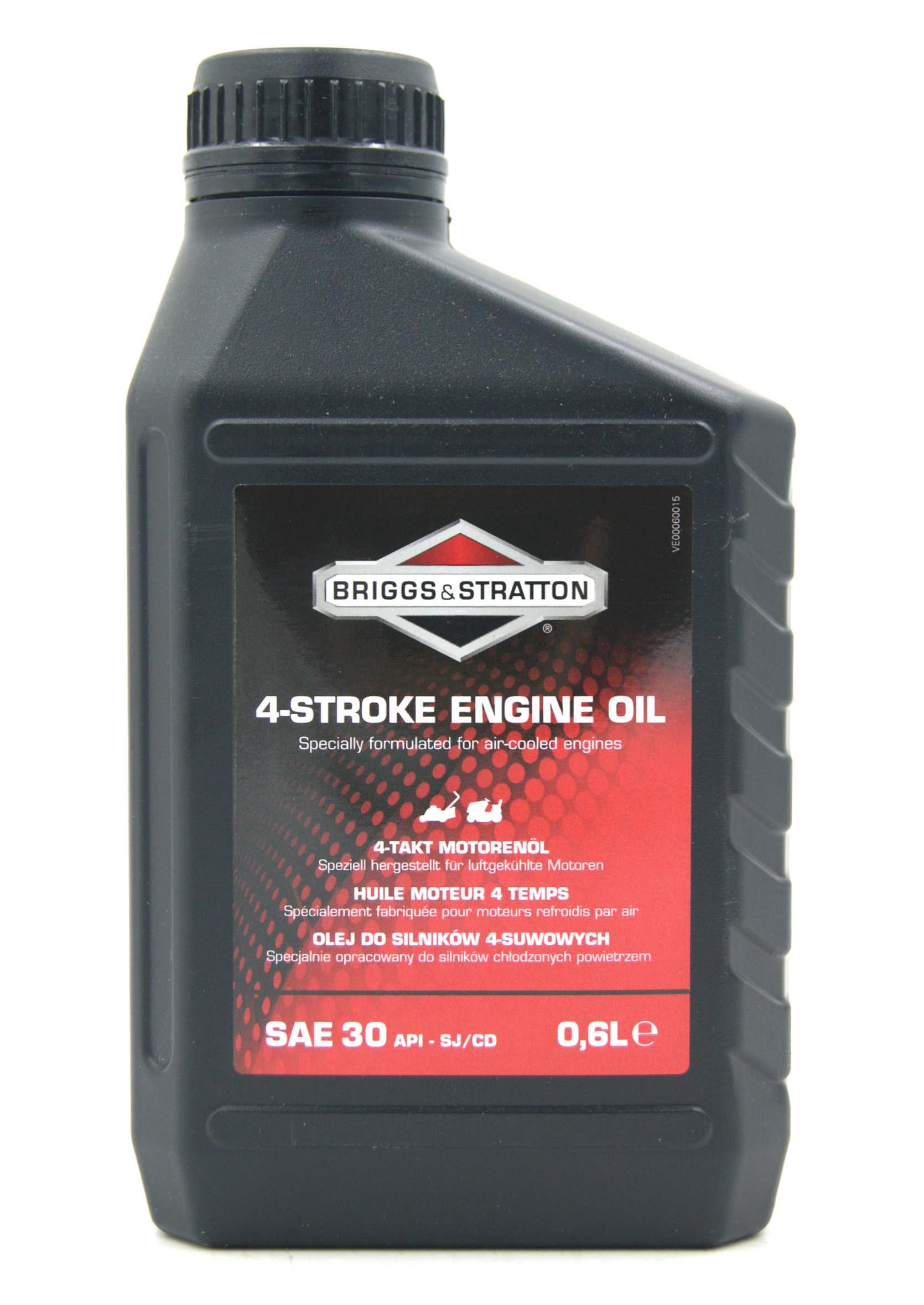 Briggs&Stratton 4-Stroke Engine Oil SAE 30 600ml Olej do Kosiarki Spalinowej 4T