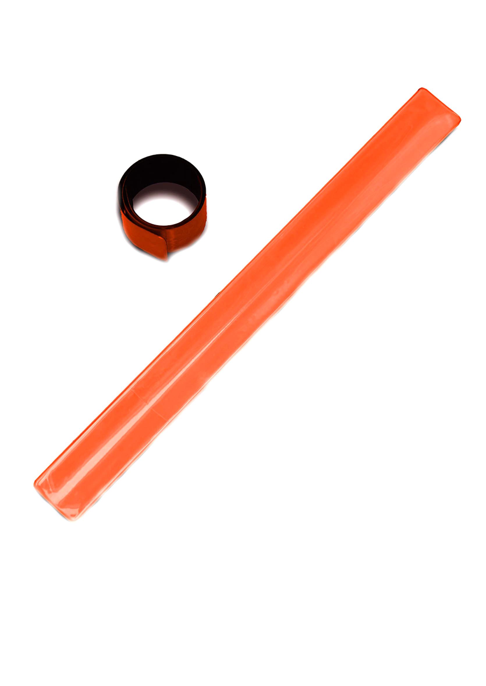 CarCommerce Opaska Odblaskowa Samozaciskowa Pomarańczowa 34x3cm