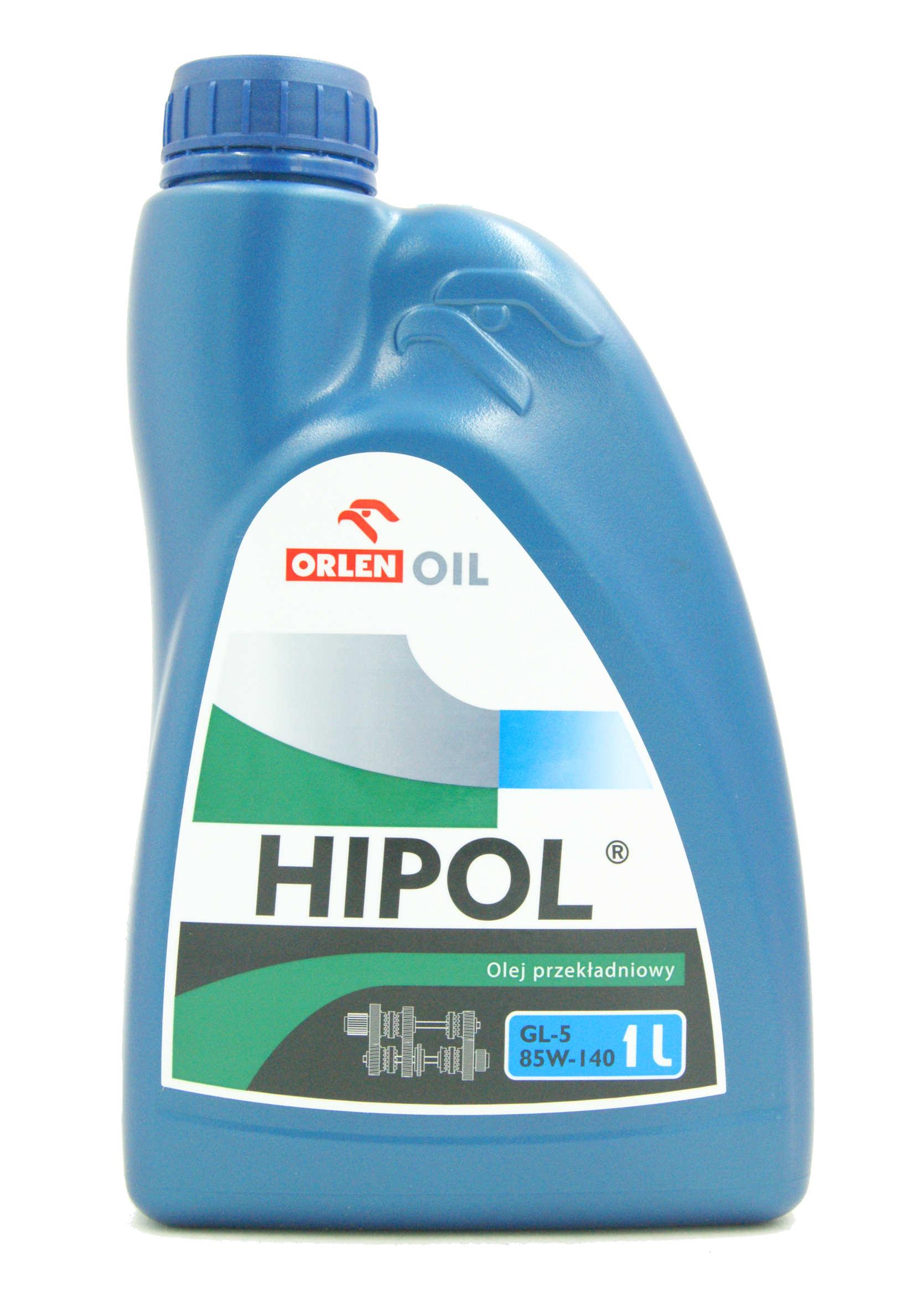 Hipol 85W140 GL-5 1L Olej Przekładniowy Mineralny do Skrzyni Biegów