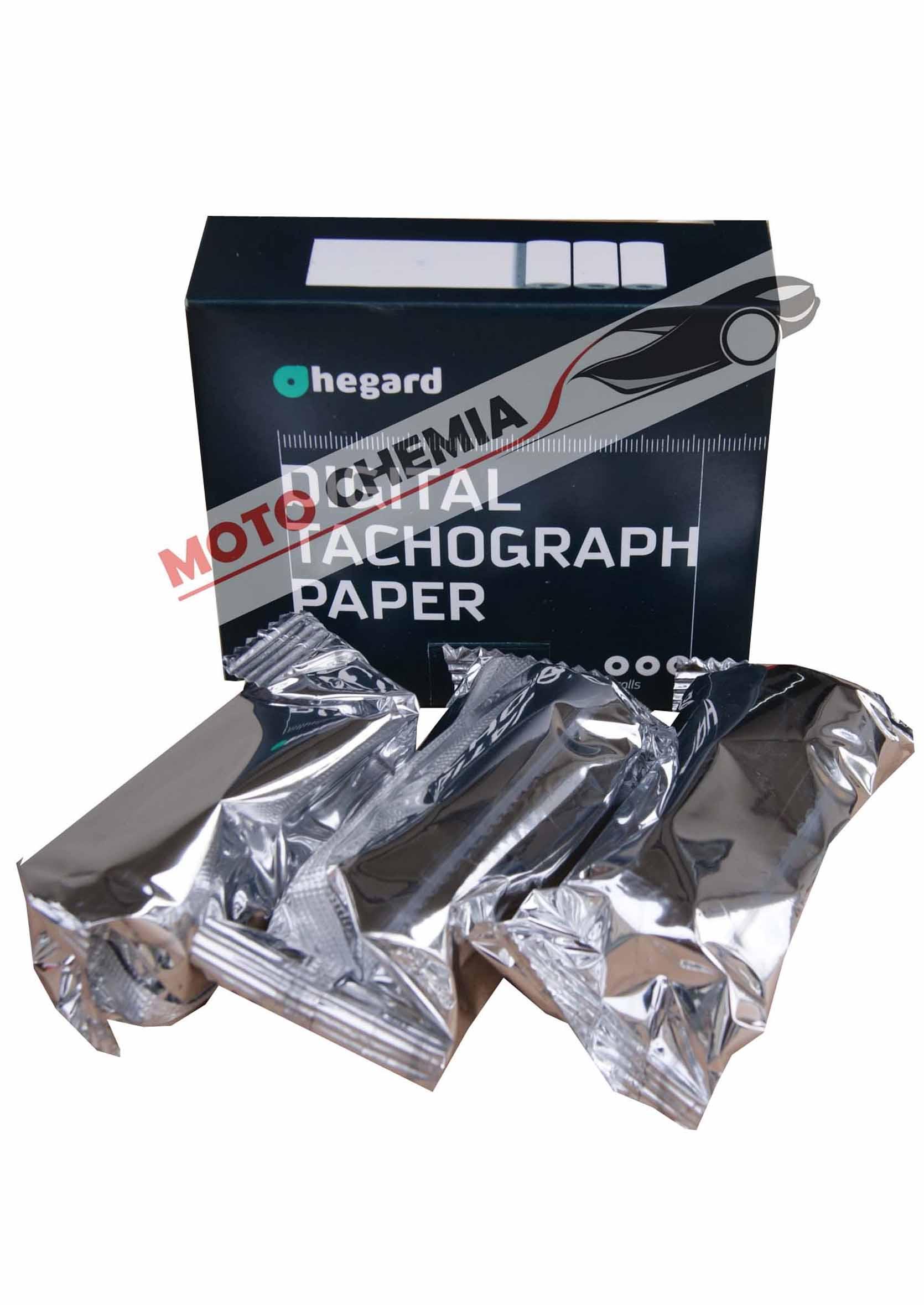 Hegard Papier Termiczny 3szt. do tachografu cyfrowego