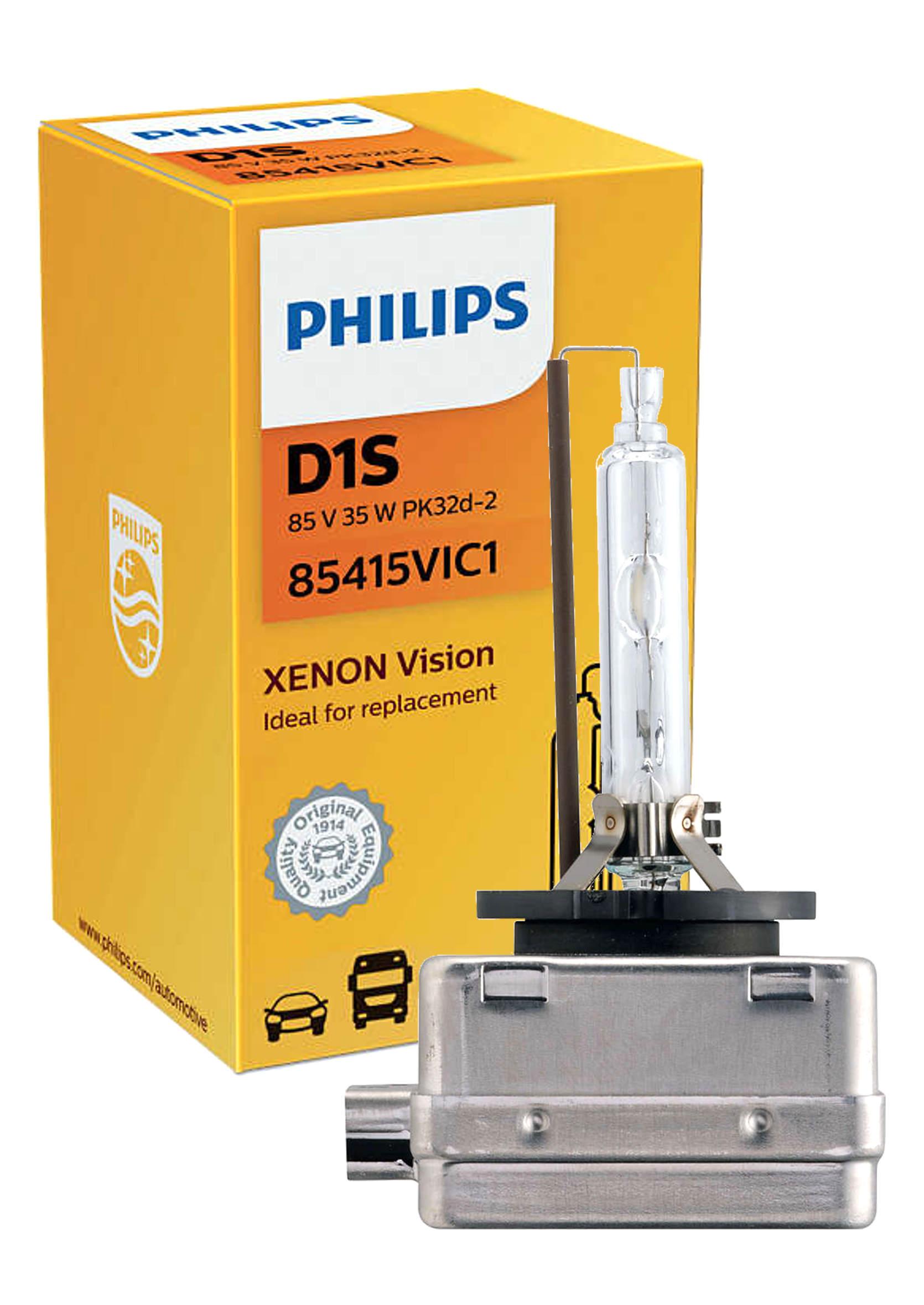 Philips Vision D1S 85V 35W PK32d-2 1szt. Żarnik Ksenonowy
