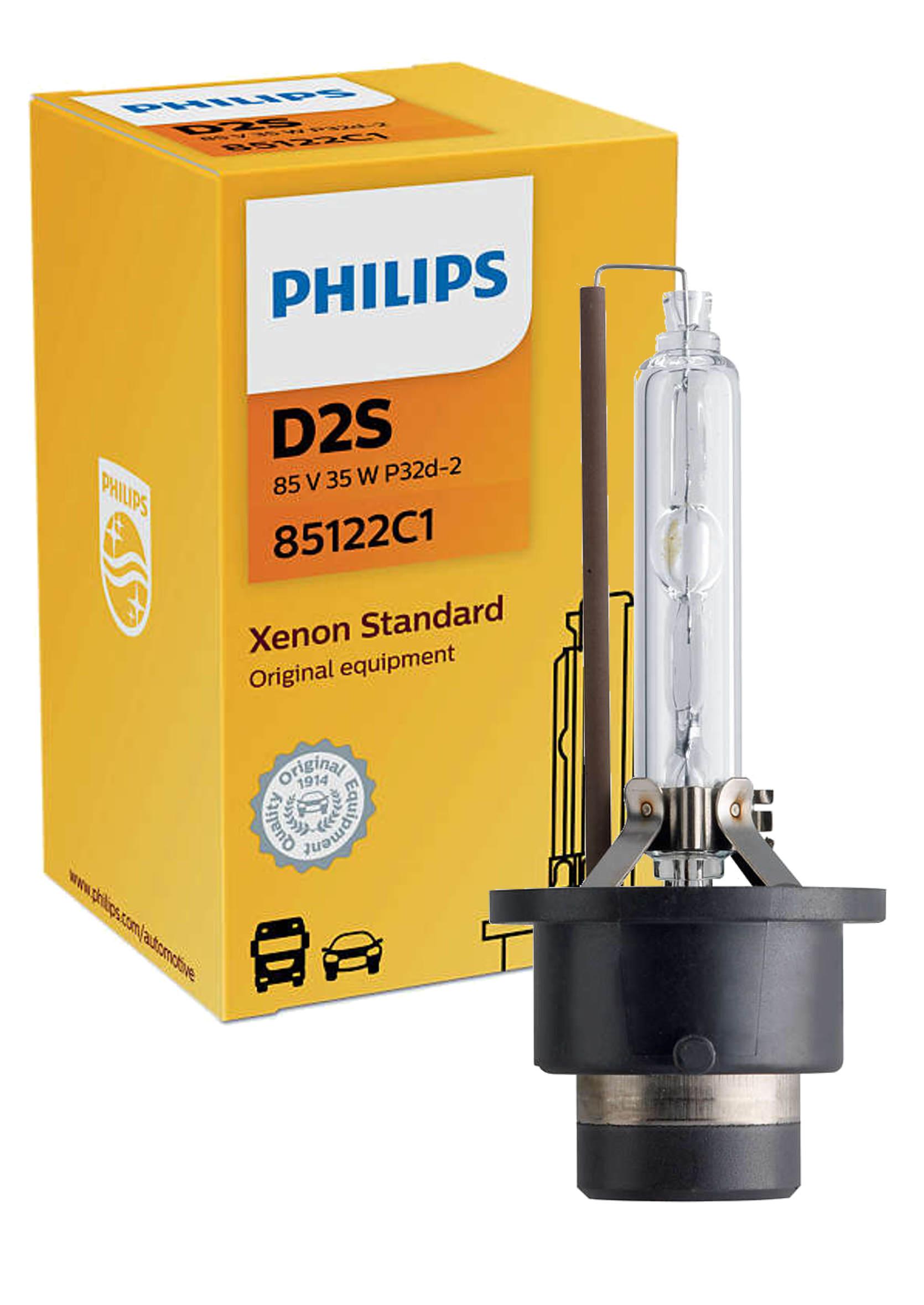 Philips Xenon Vision D2S 4300K 85V 35W P32d-2 Żarnik Ksenonowy 1szt.
