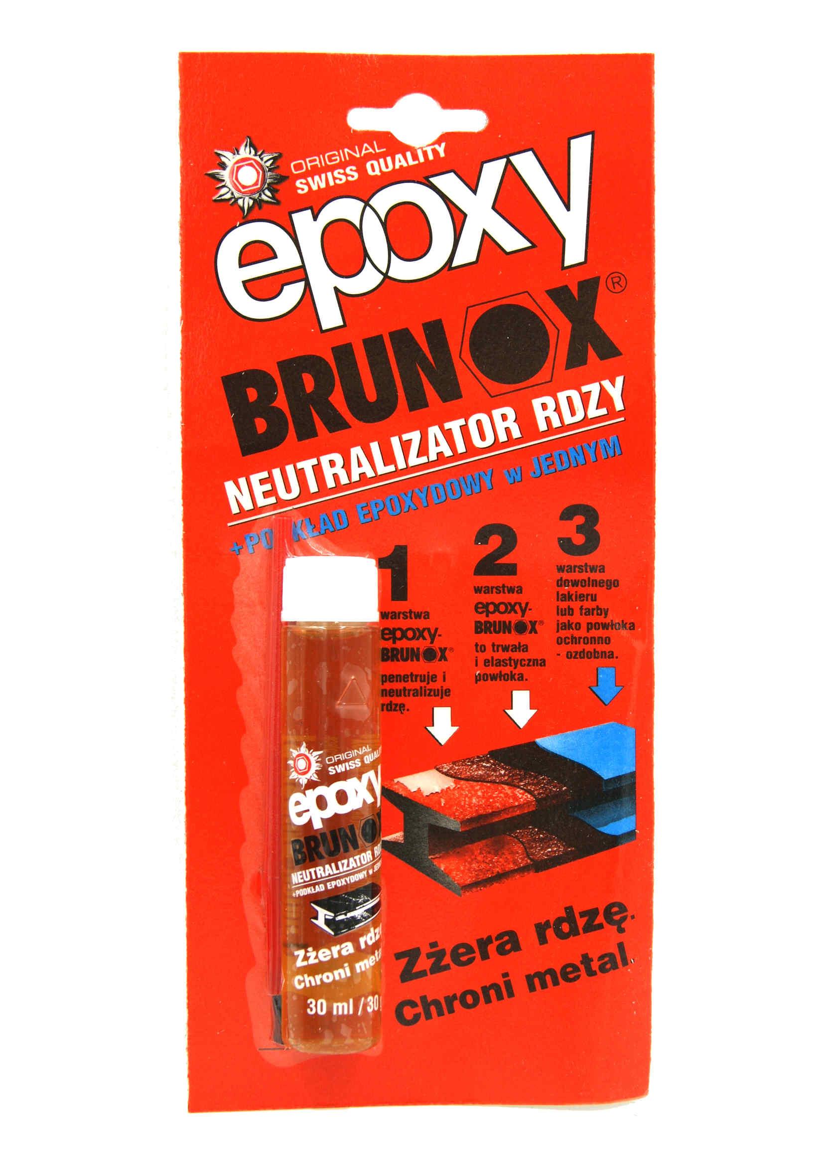 Brunox Epoxy 30ml Odrdzewiacz Preparat Antykorozyjny z Pędzelkiem
