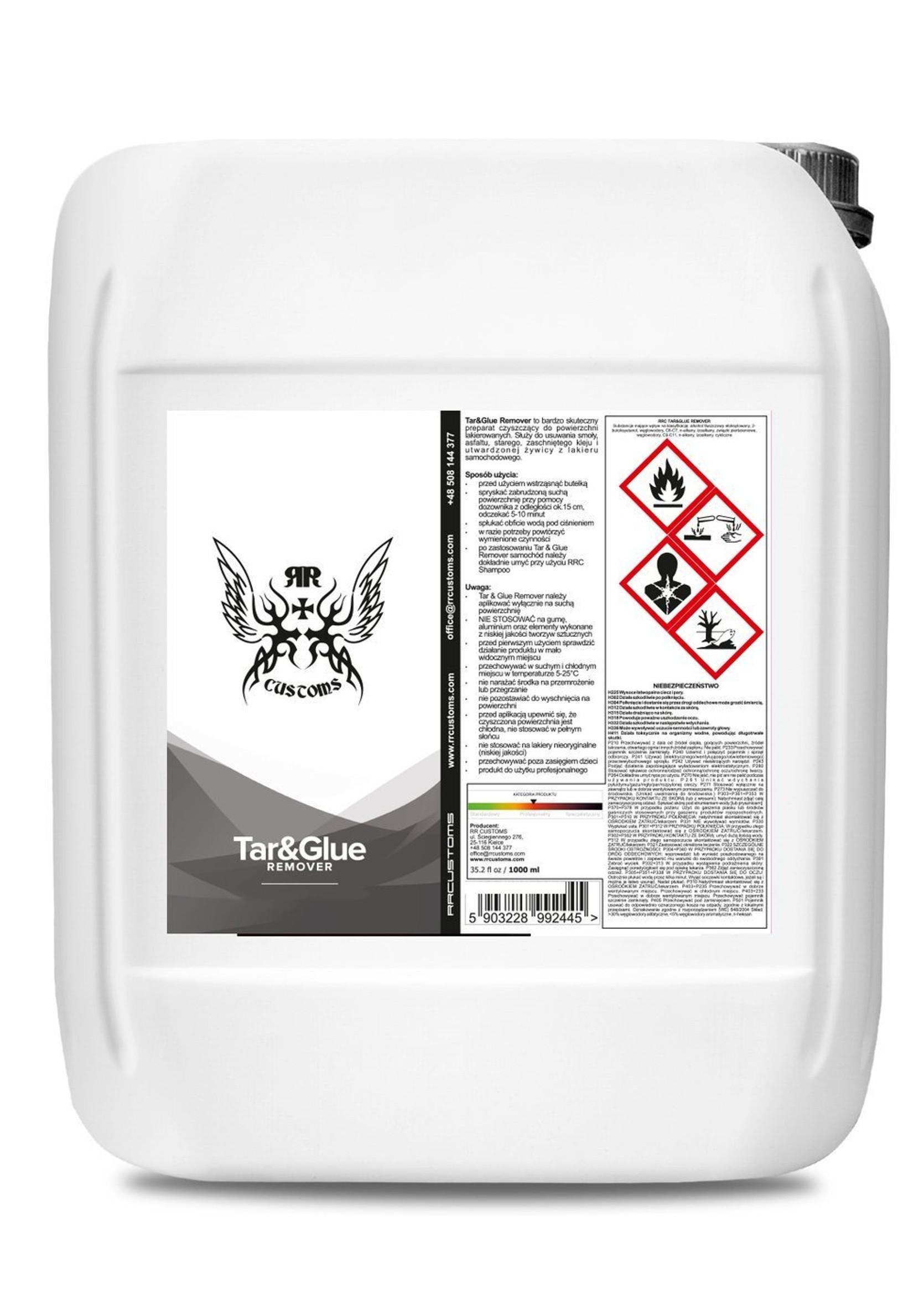 RR Customs RRC Tar And Glue 5L Preparat do Usuwania Smoły, Kleju i Żywicy