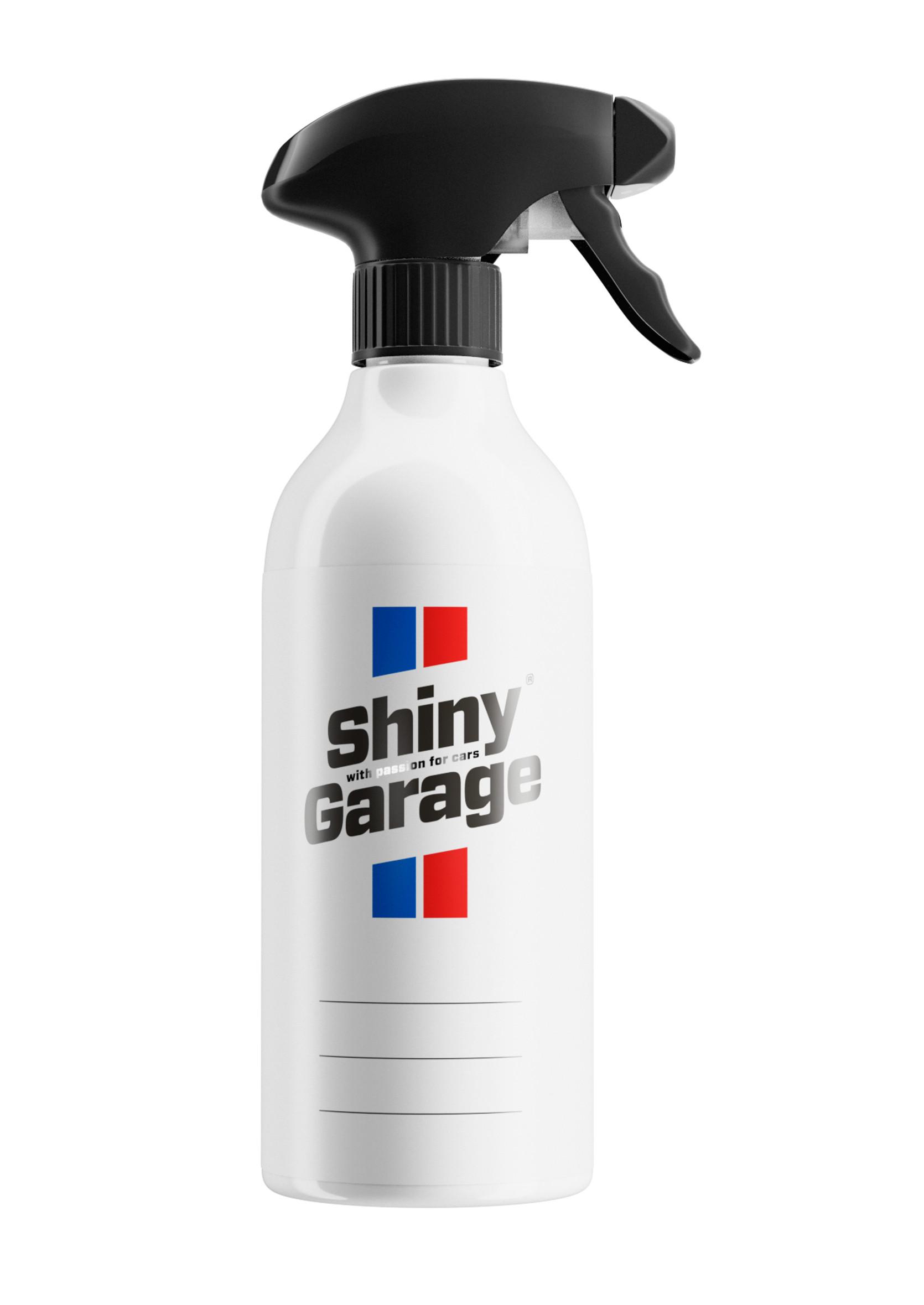 Shiny Garage Butelka PET z pustą etykietą 500ml + atomizer