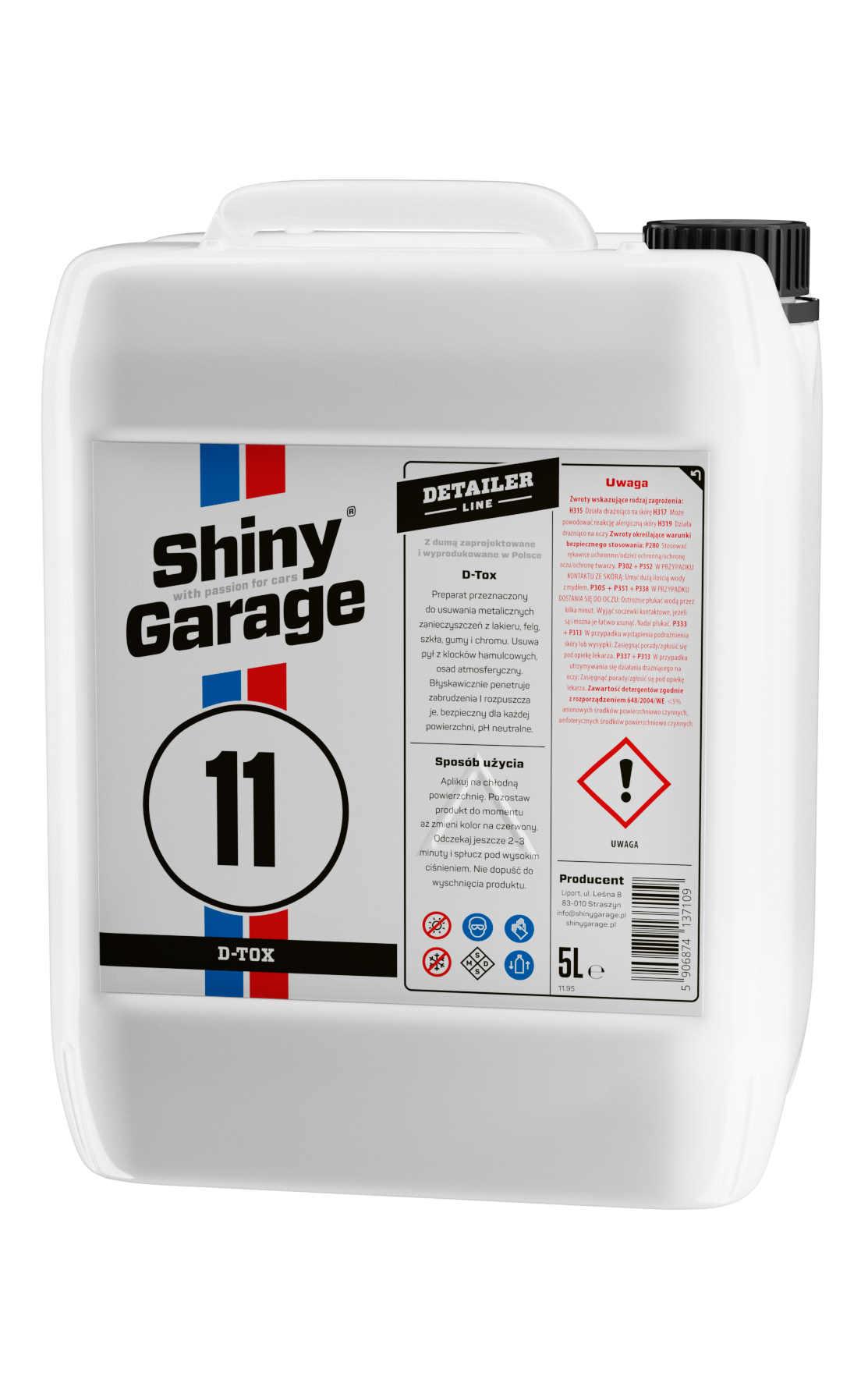 Shiny Garage D-Tox 5L Krwawa felga