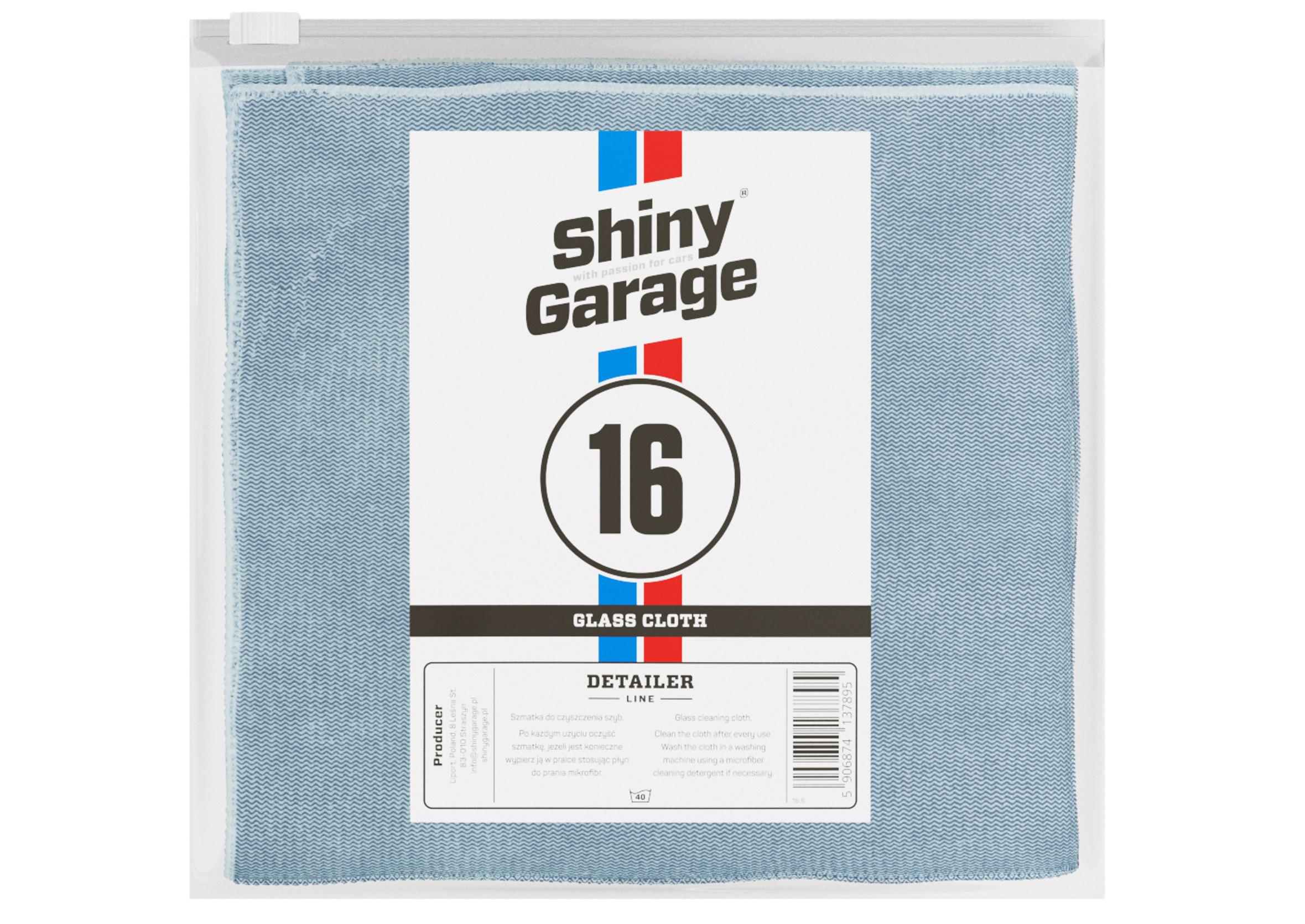 Shiny Garage Glass Cloth 35x35cm Szmatka do Polerowania Szyb