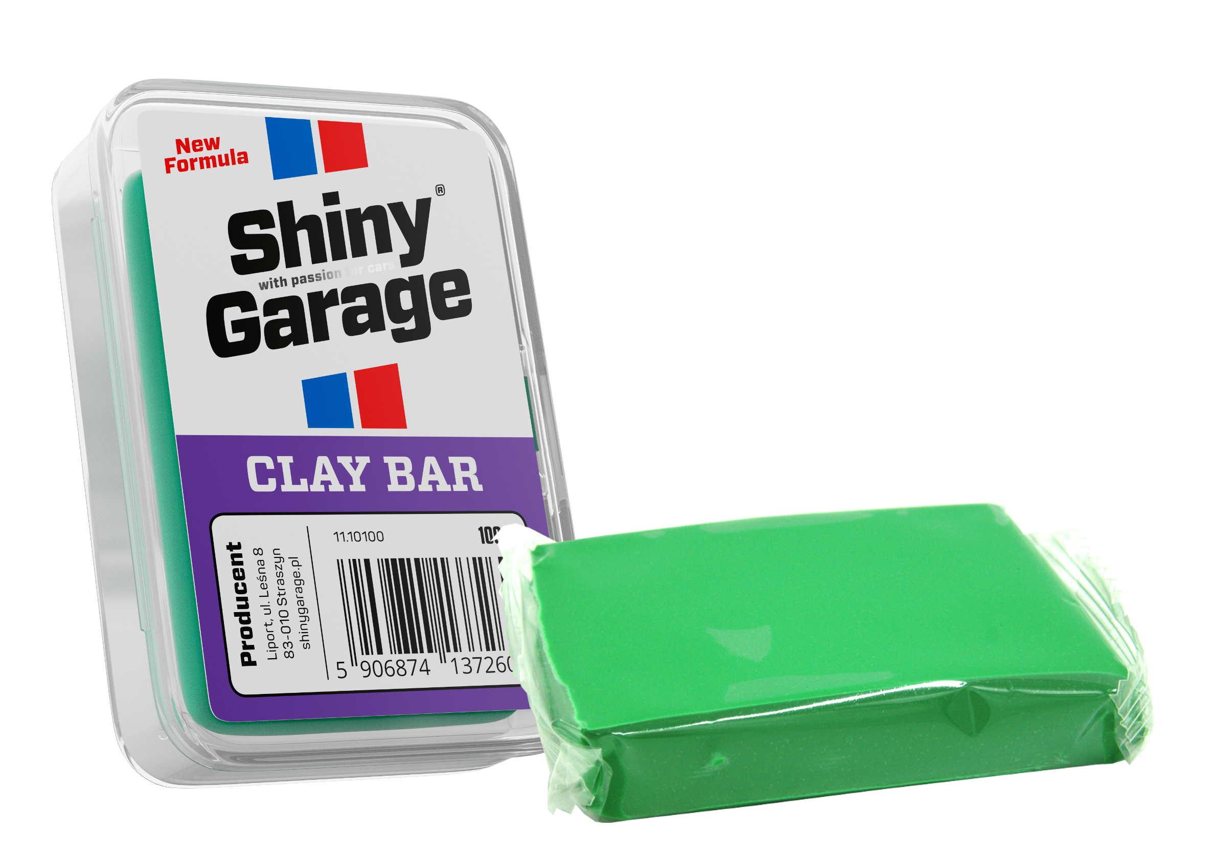 Shiny Garage Clay Bar Fine Glinka Czyszcząca do Lakieru 100g