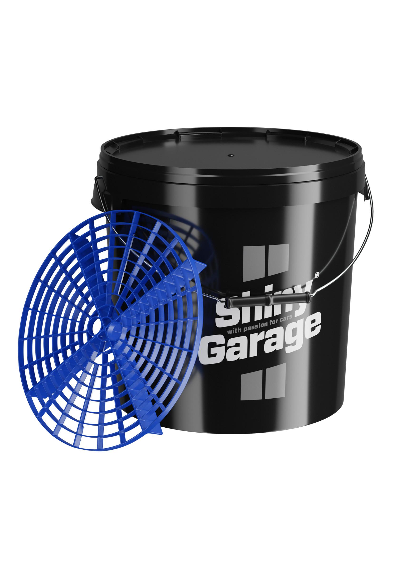 Shiny Garage Wiadro 20L z Separatorem Czarne