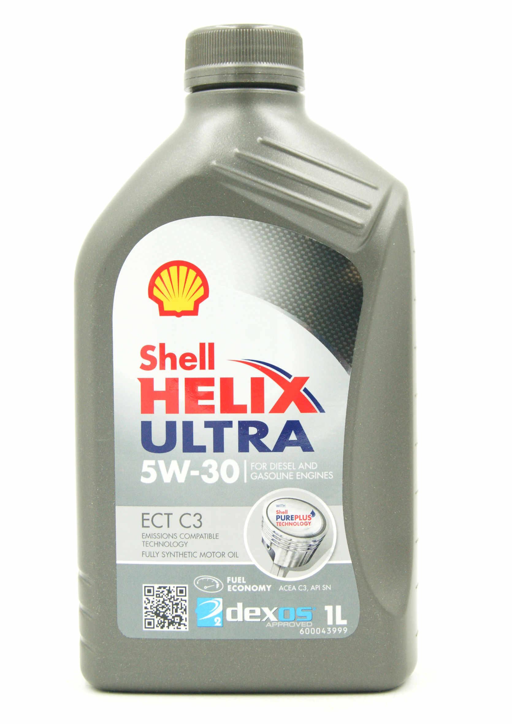 Shell Helix Ultra ECT C3 5W30 1L Olej Silnikowy Syntetyczny