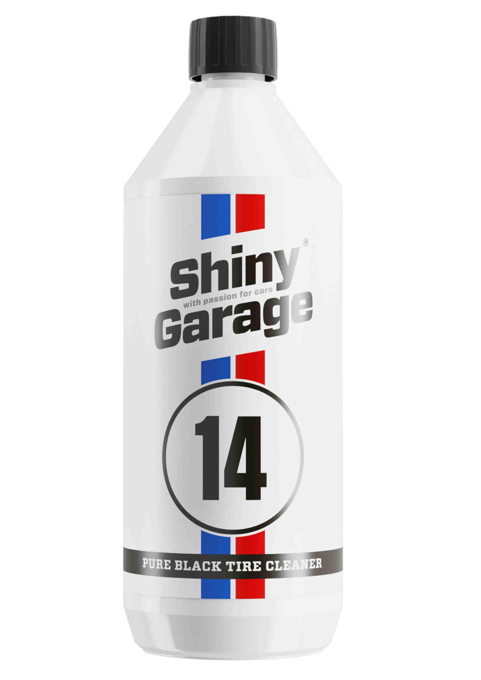 Shiny Garage Pure Black Tire Cleaner 1L Koncentrat do Czyszczenia Opon