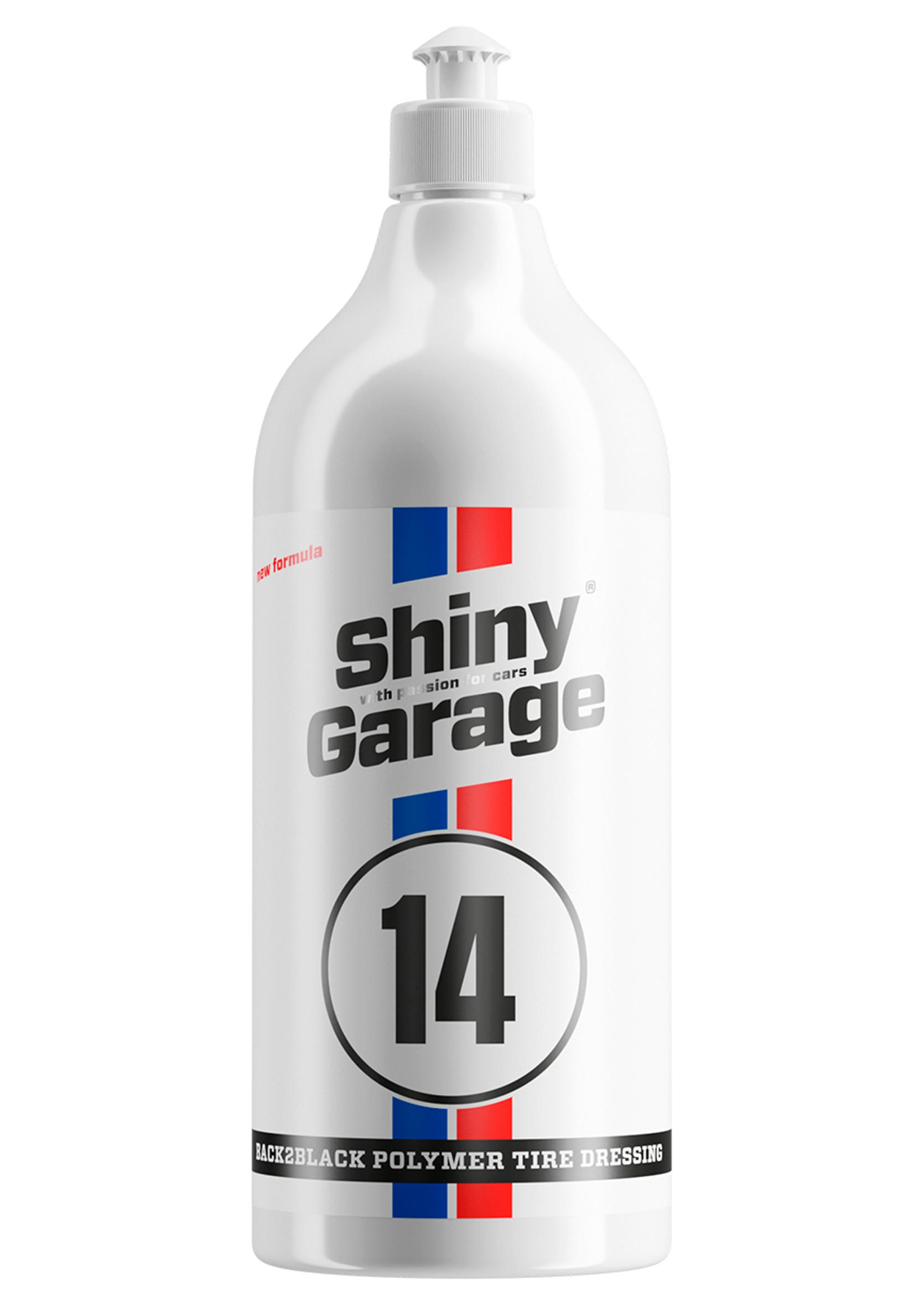 Shiny Garage Back2Black Tire Dressing 1L Żel do Konserwacji Opon