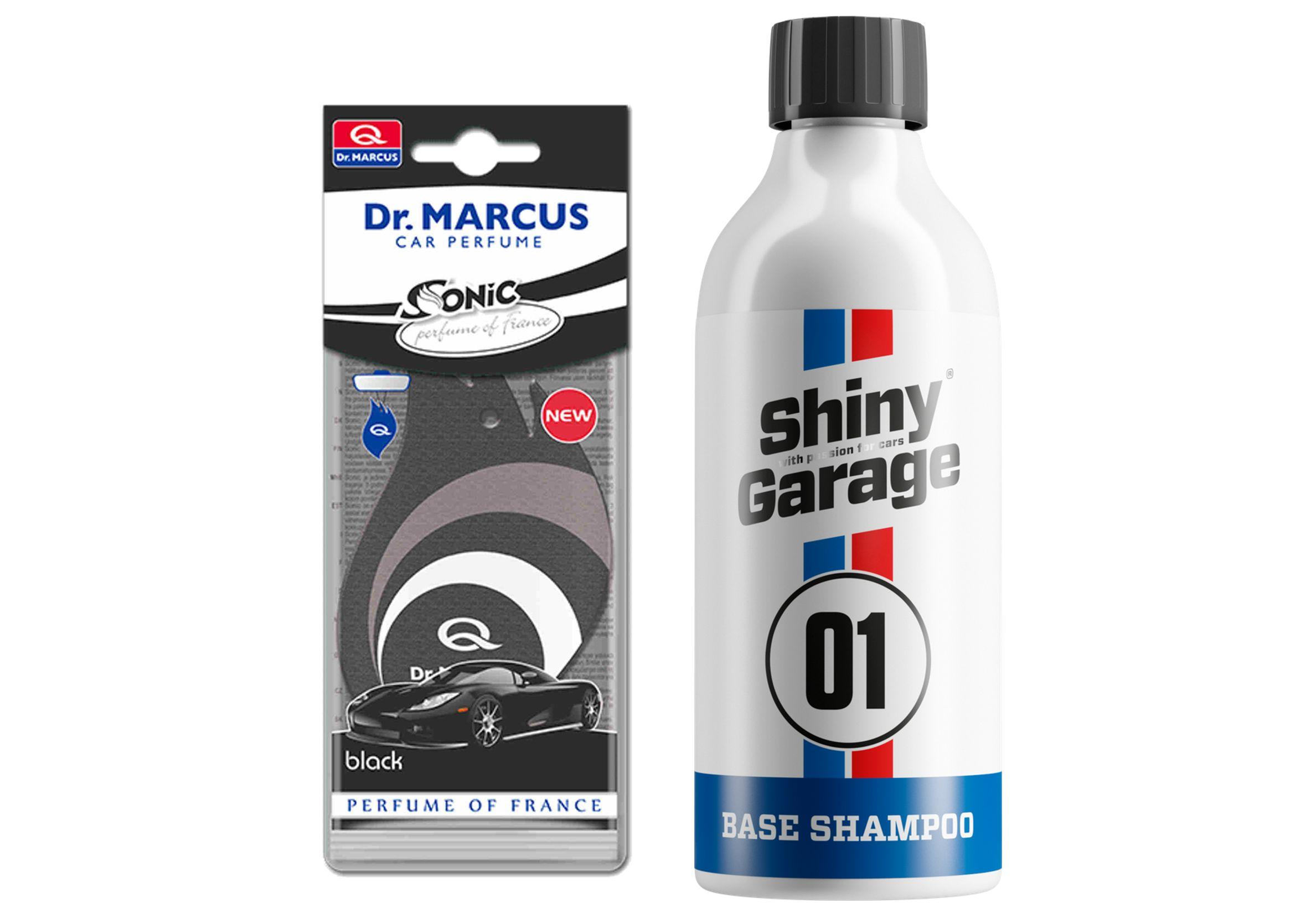 Shiny Garage Base Car Shampoo 500ml Szampon Samochodowy Wiśniowy