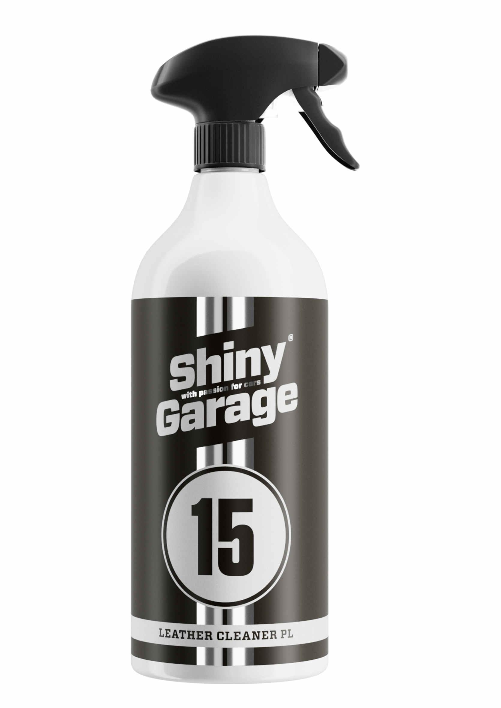Shiny Garage Leather Cleaner Strong Silny Płyn do Czyszczenia Skóry 1L