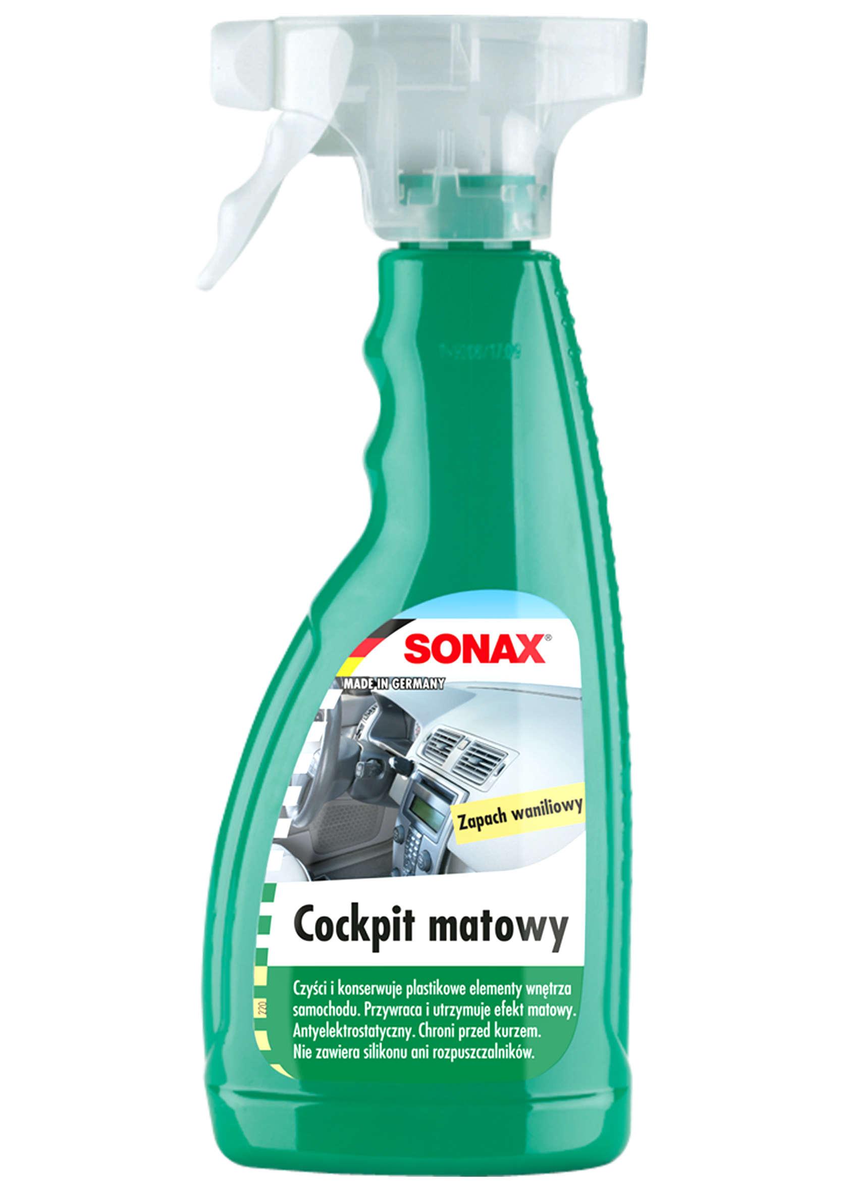 Preparat do Pielęgnacji Kokpitu Sonax Cockpit Matowy Wanilia 500ml
