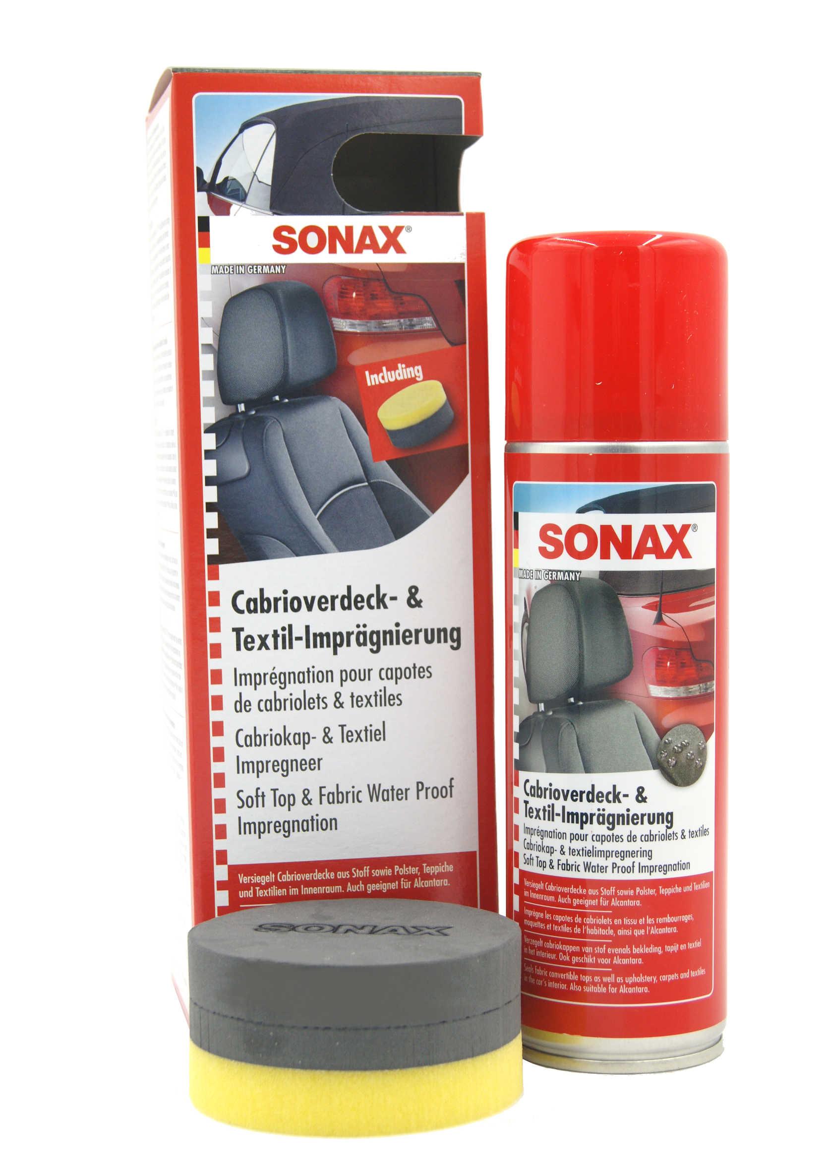Sonax Preparat do konserwacji i pielęgnacji dachu Cabrio 300ml