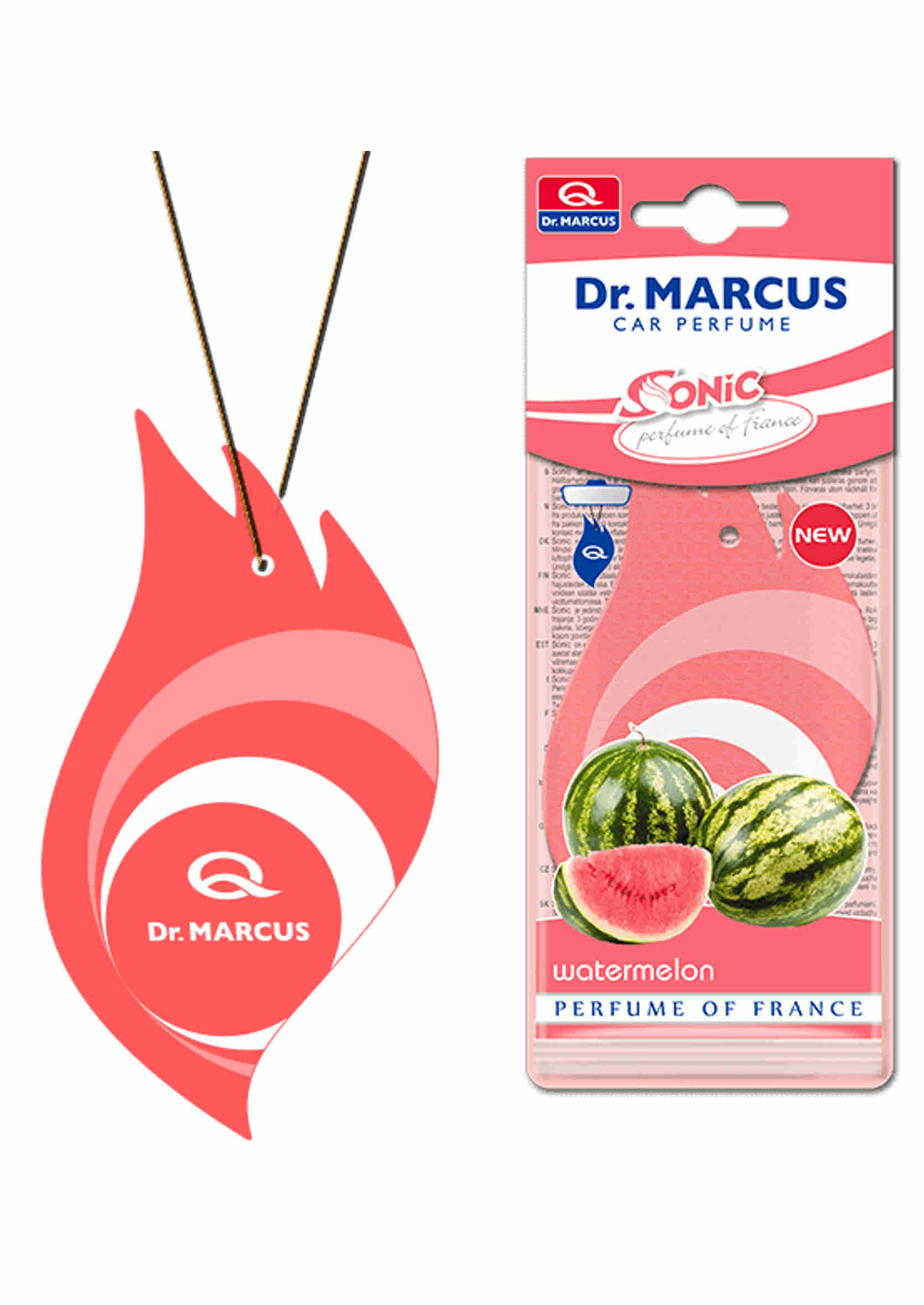 Dr. Marcus Sonic Watermelon Listek Zapachowy Choinka Arbuz