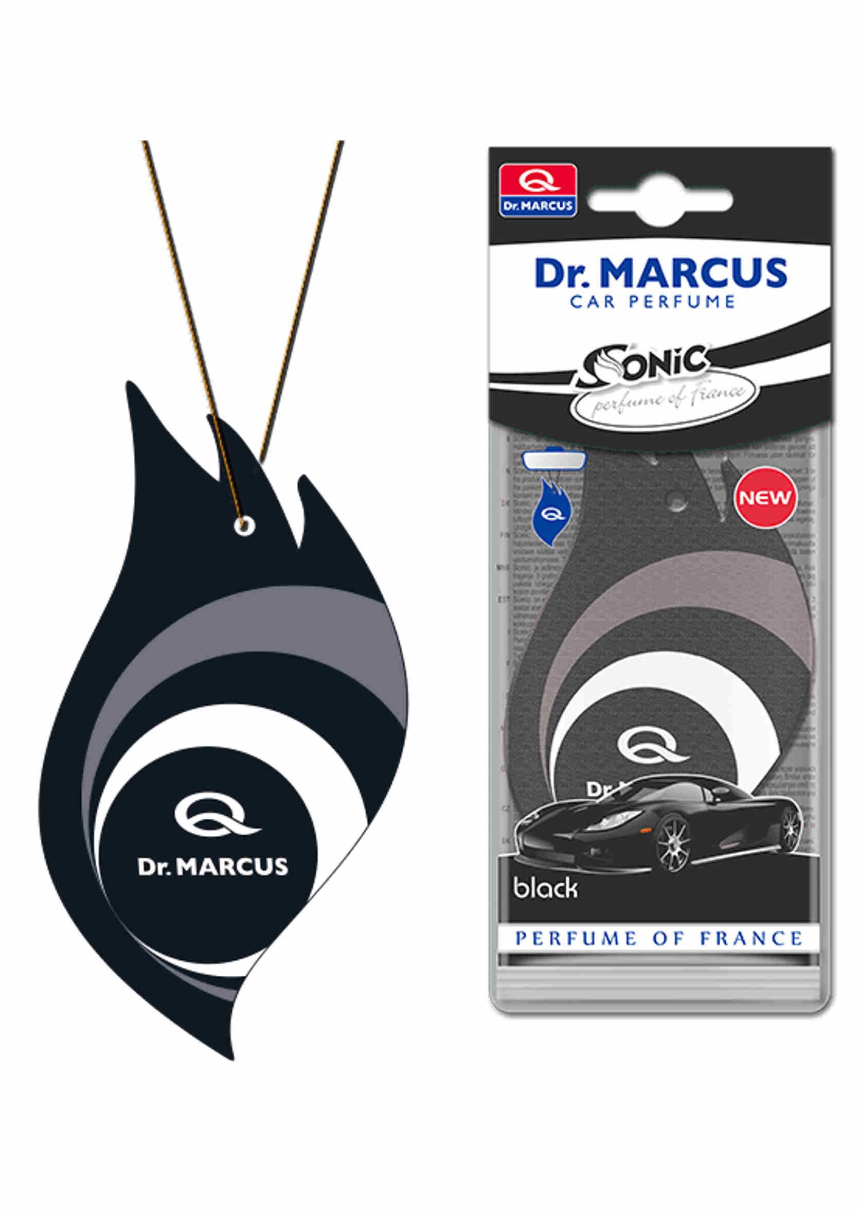 Dr. Marcus Sonic Black Listek Zapachowy Choinka Perfumowana