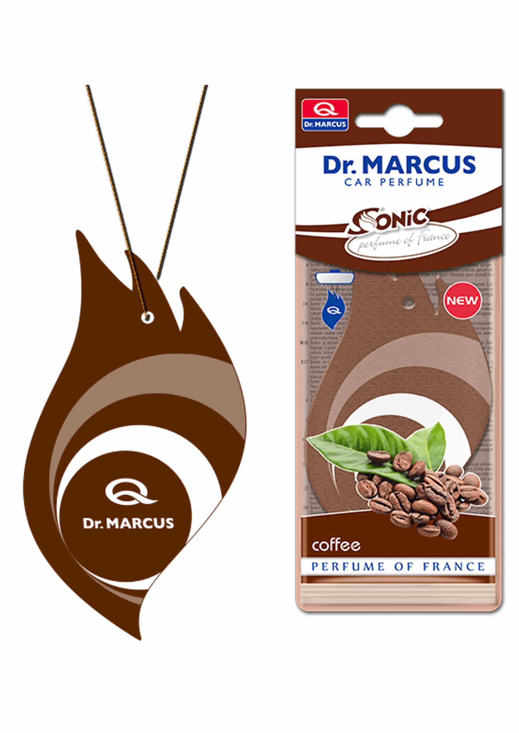 Dr. Marcus Sonic Coffee Listek Zapachowy Choinka Kawa