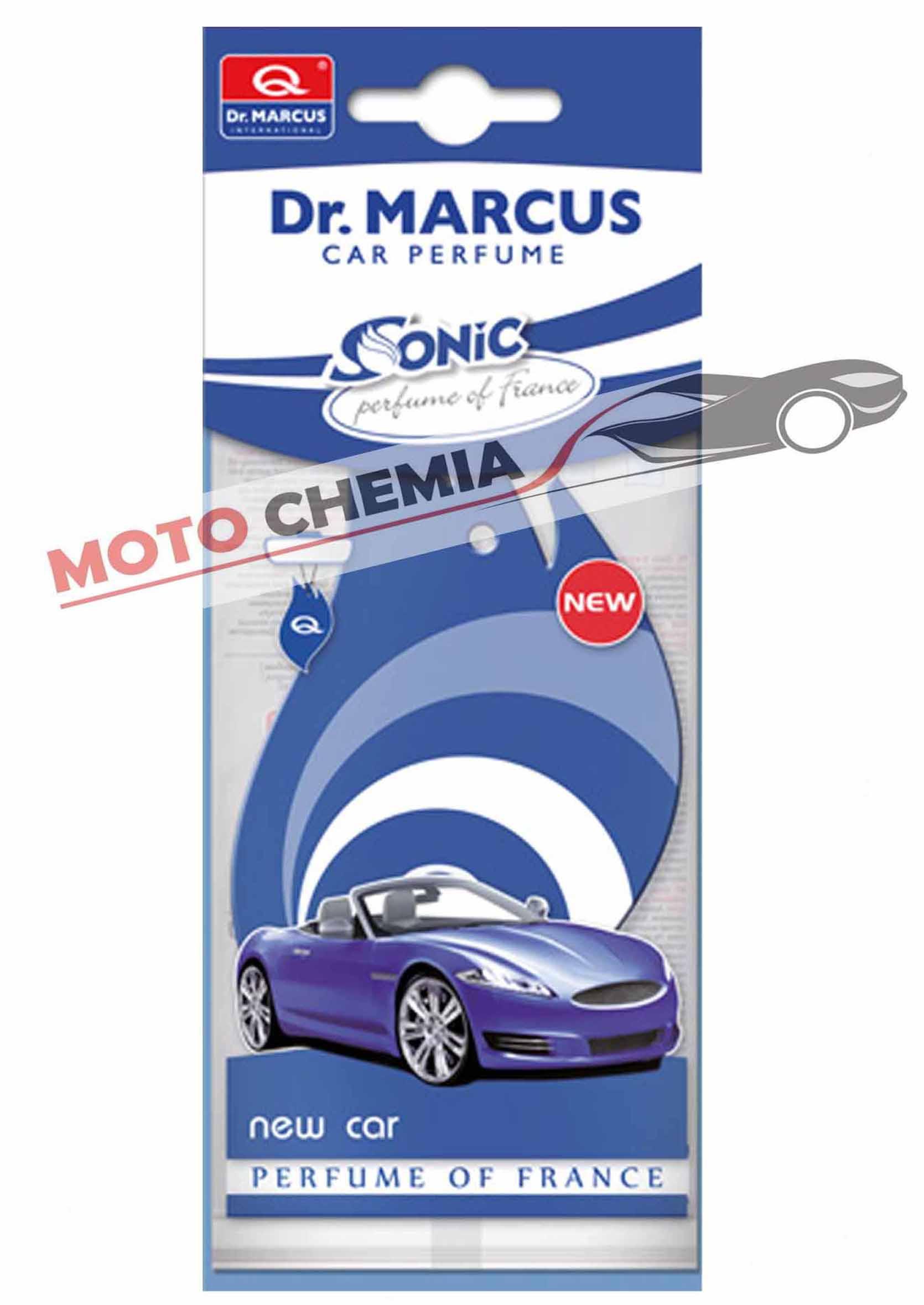 Dr. Marcus Sonic New Car Listek Zapachowy Choinka Nowy Samochód
