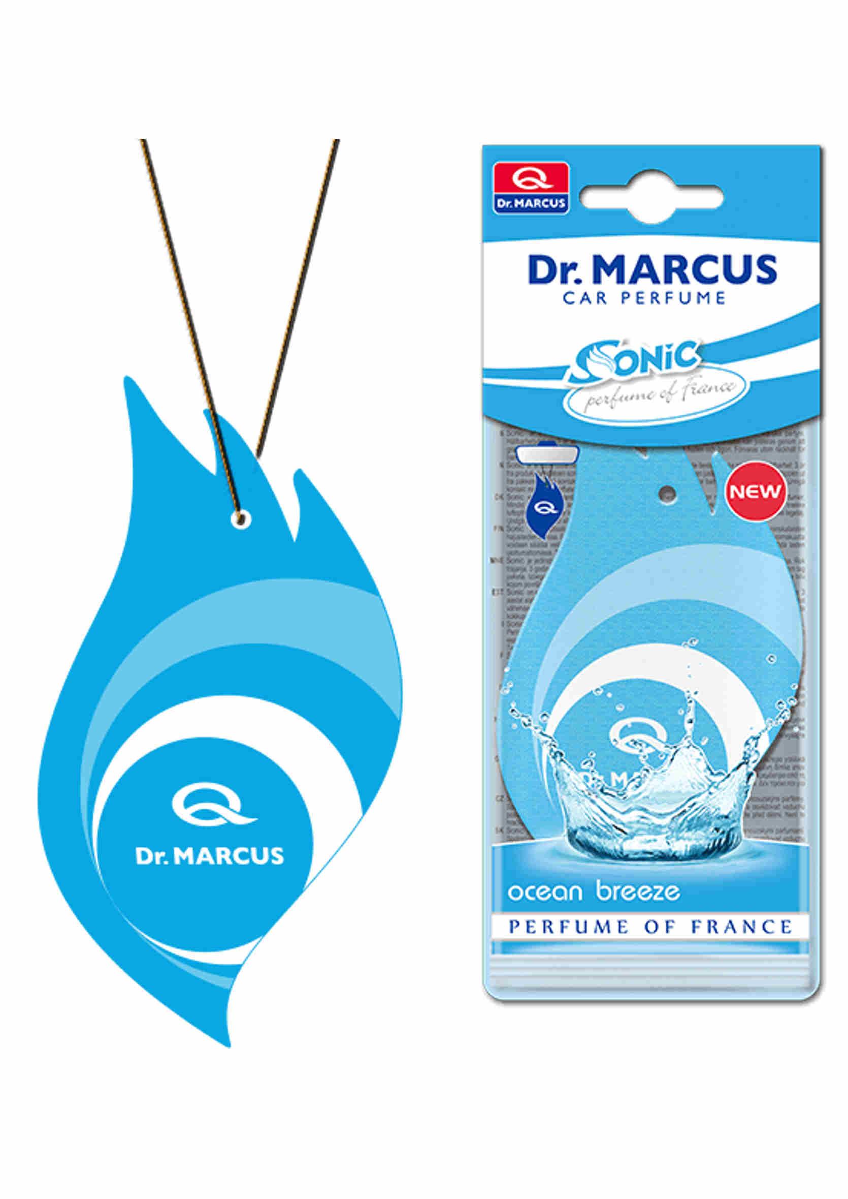 Dr. Marcus Sonic Ocean Breeze Listek Zapachowy Choinka Morska