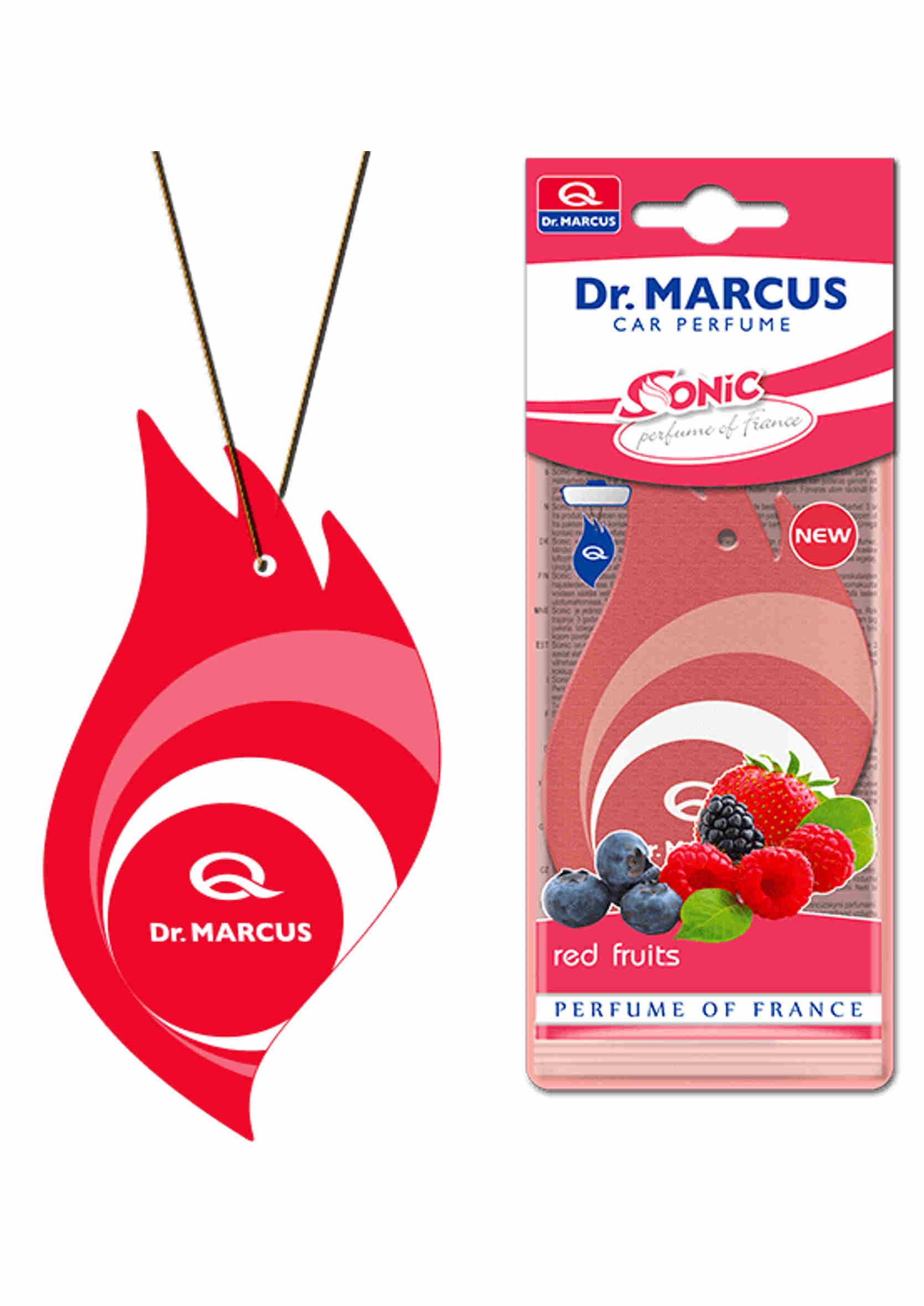 Dr. Marcus Sonic - Drzewko Zapachowe Red Fruits
