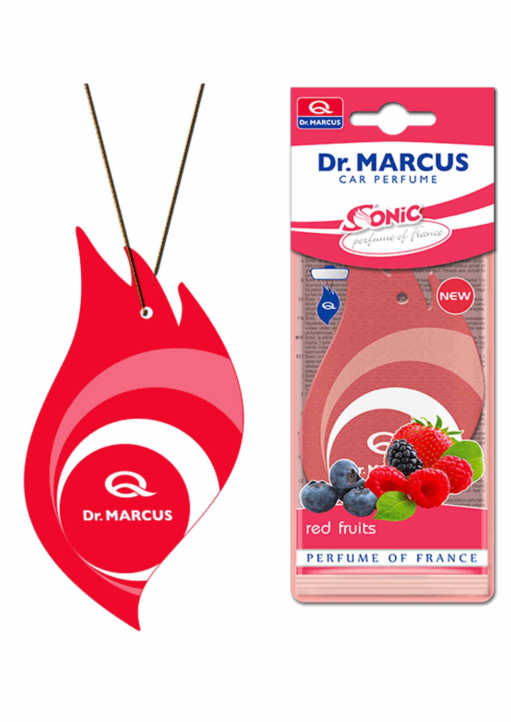 Dr. Marcus Sonic Red Fruits Listek Zapachowy Choinka Owoce Leśne