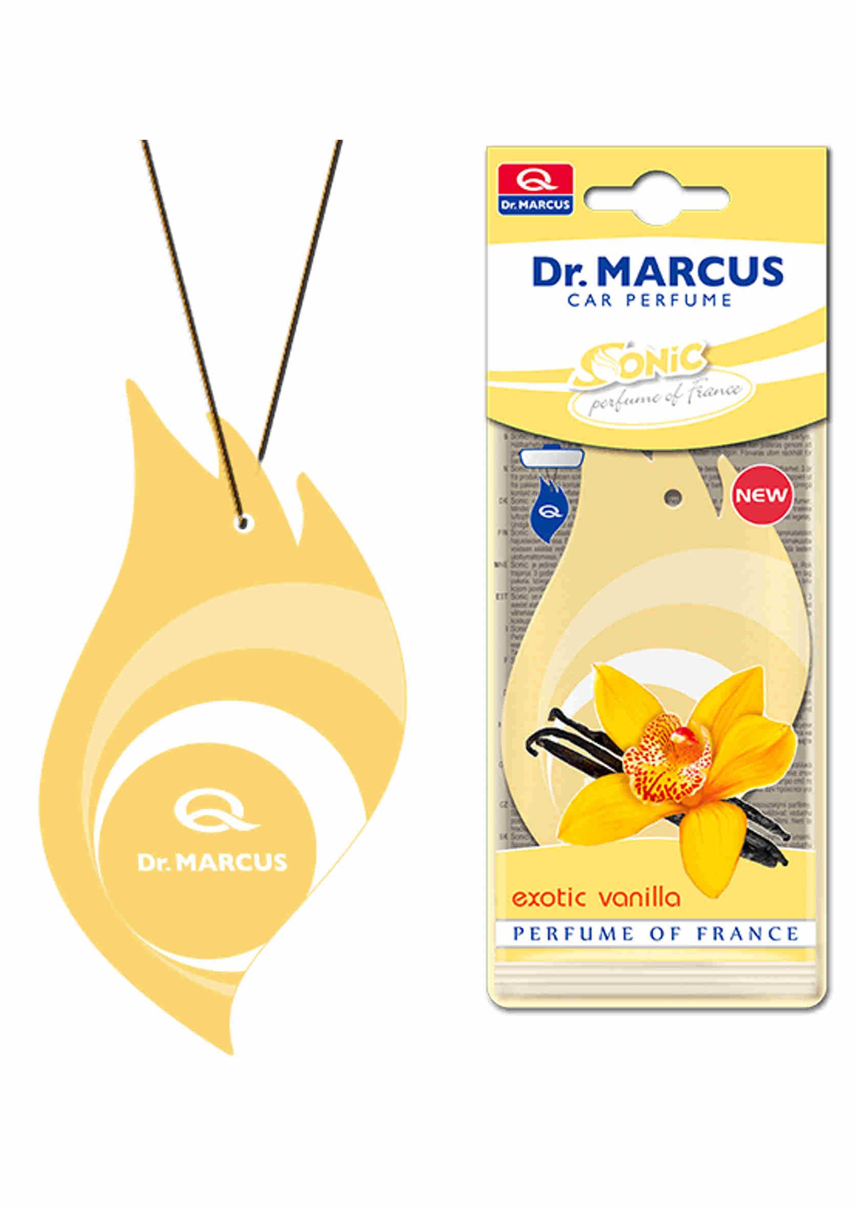 Dr. Marcus Sonic Exotic Vanilla Listek Zapachowy Choinka Wanilia