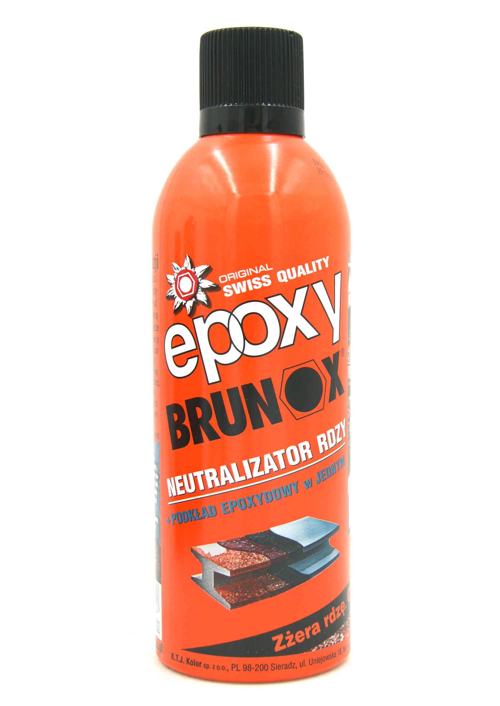 Brunox Epoxy 400ml Odrdzewiacz Neutralizator Rdzy w Sprayu