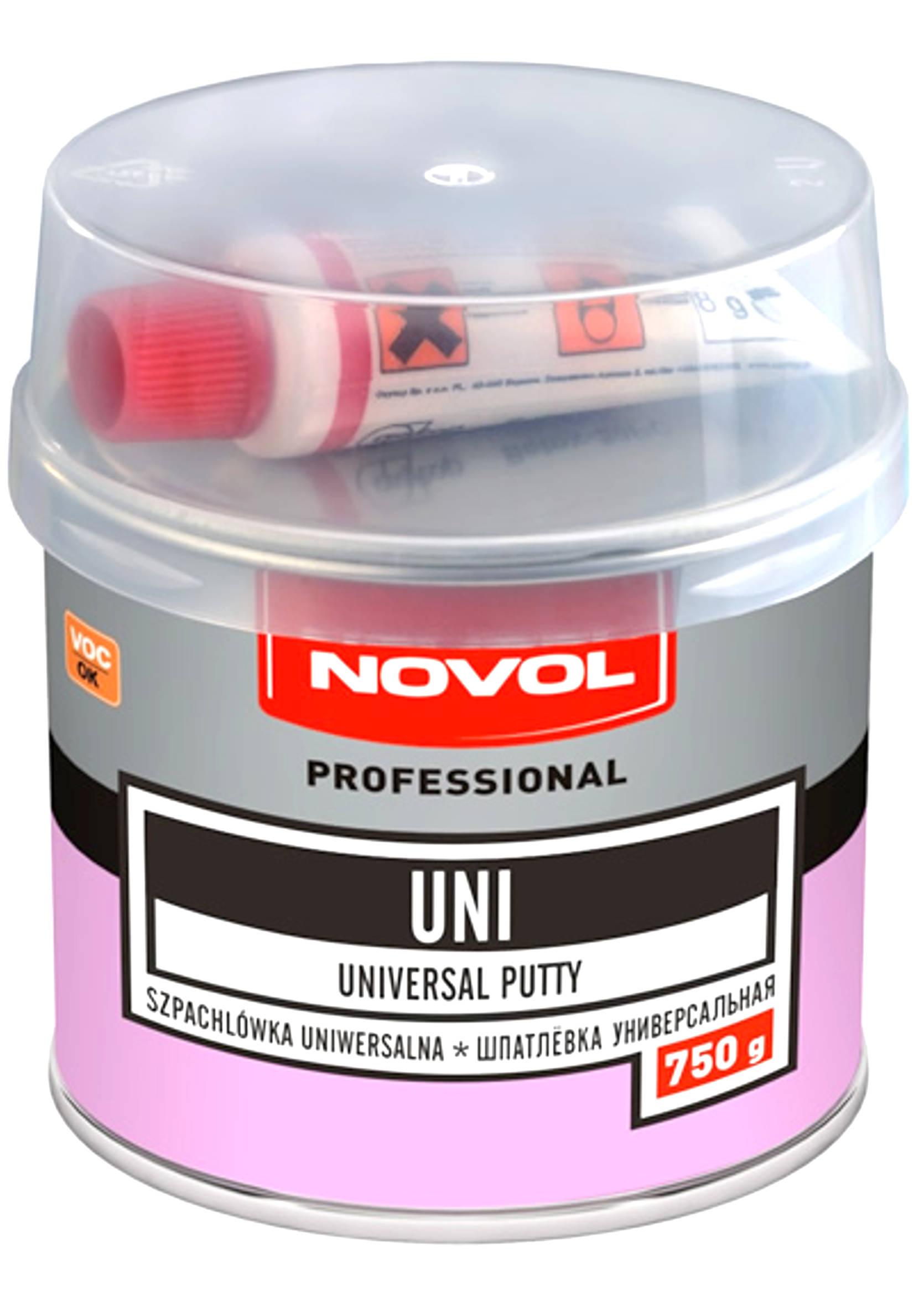 Novol UNI 750g Szpachla uniwersalna szpachlówka 0,75kg