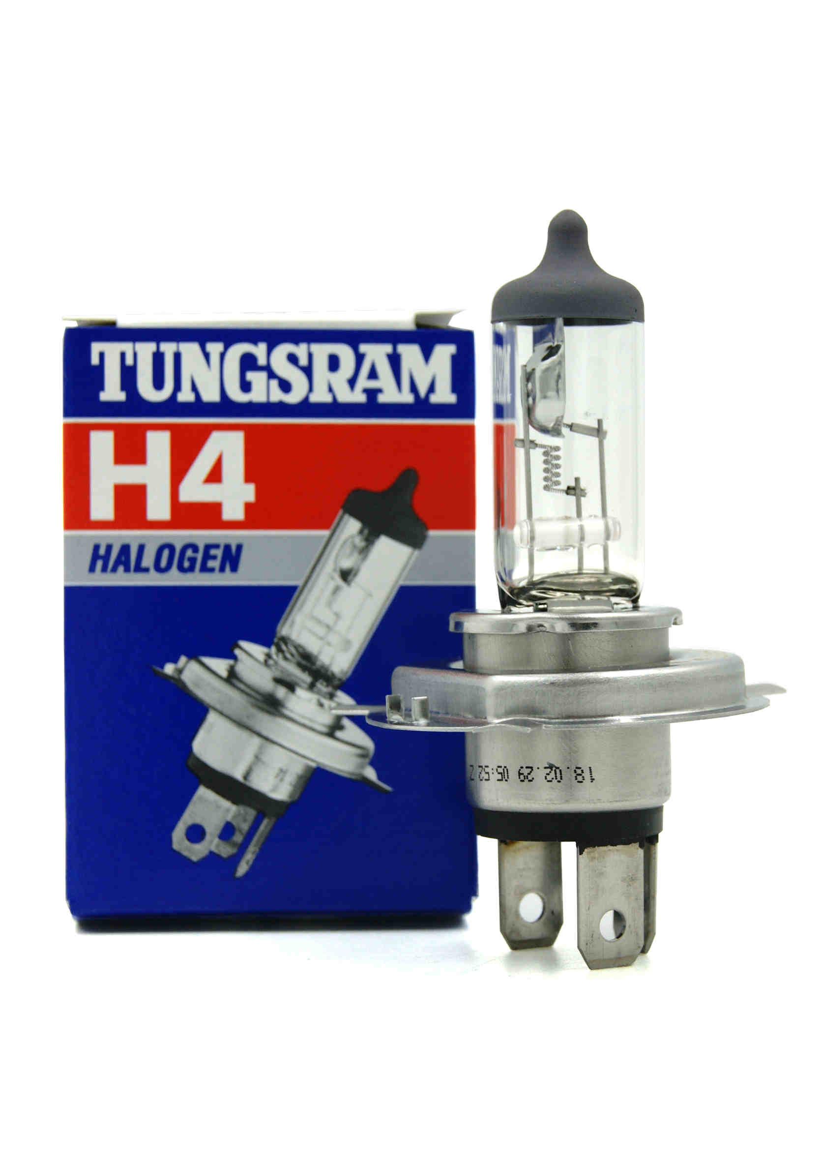 Tungsram 12V H4 60/55W P43T Żarówka samochodowa halogenowa