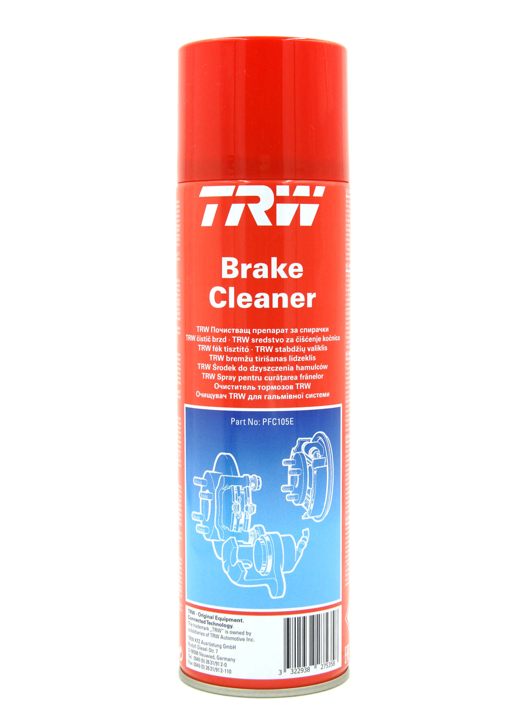 TRW Brake Cleaner Zmywacz do hamulców 500ml