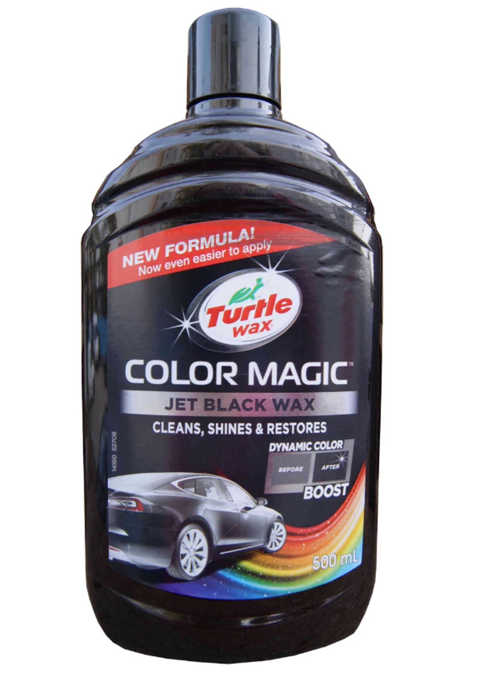 Turtle Wax Color Magic 500ml Czarny Wosk koloryzujący do lakieru