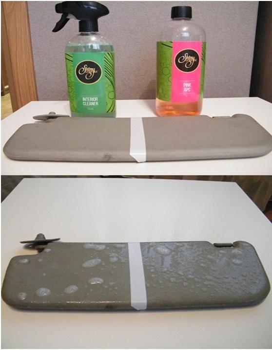 Test produktów do czyszczenia tapicerki