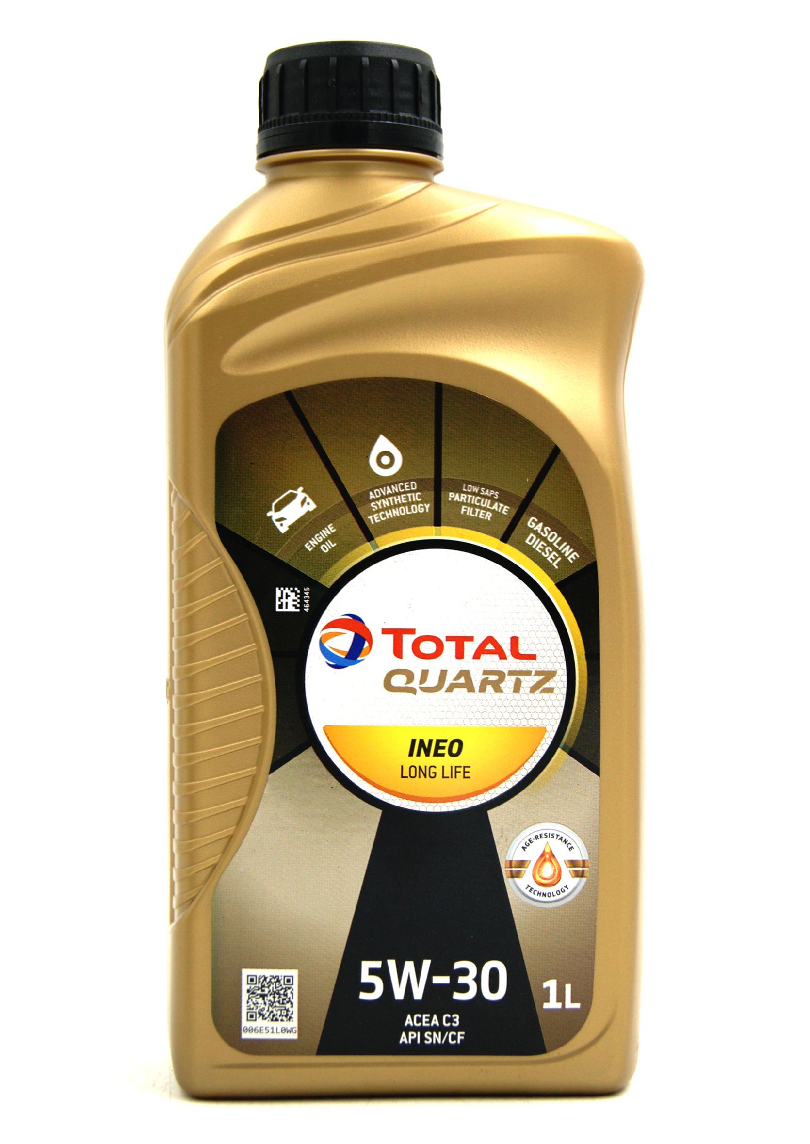 Total Quartz Ineo Long Life 5W30 1L Olej Silnikowy Syntetyczny