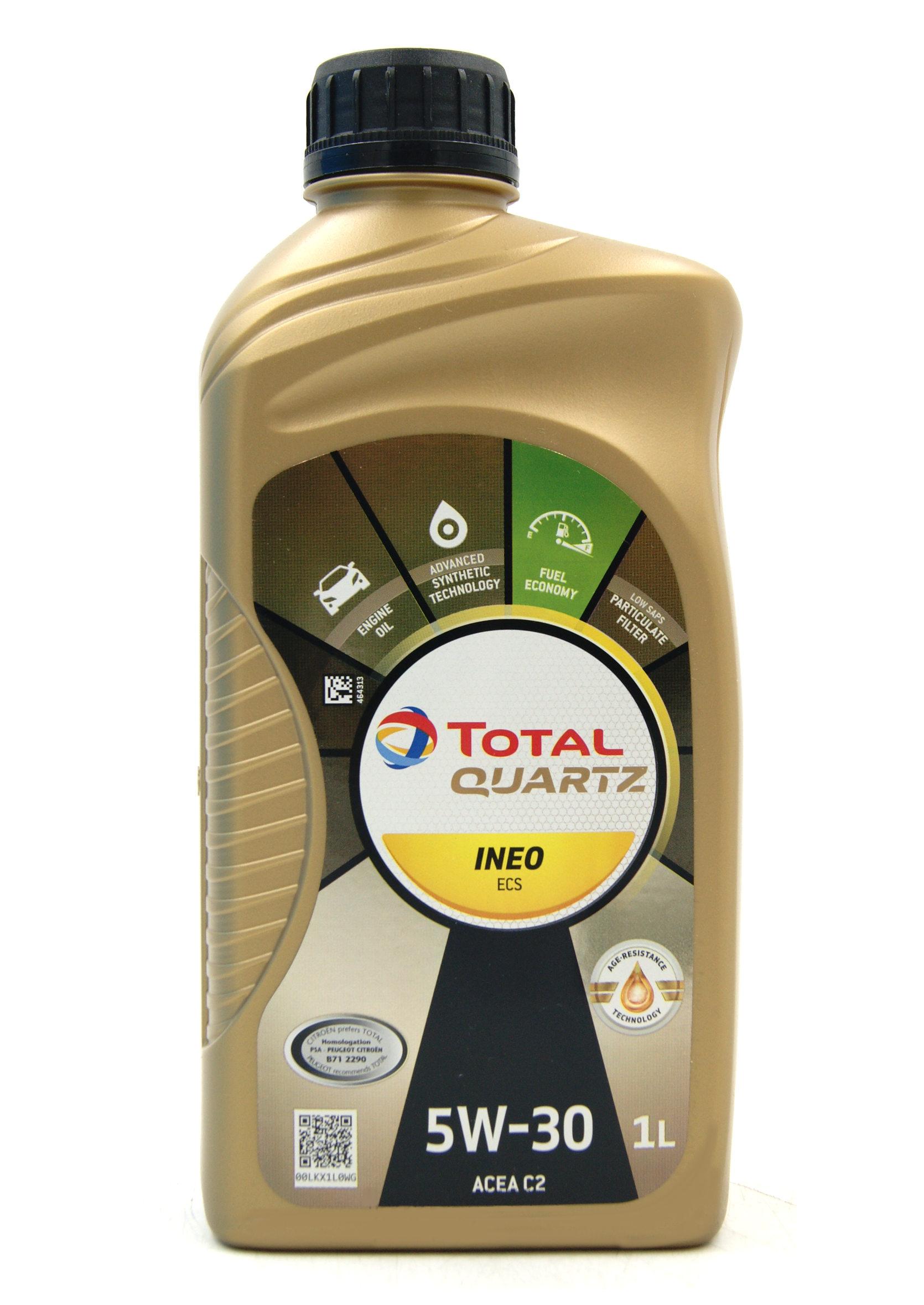 Total Quartz Ineo ECS Fuel Economy 5W30 1L Olej Silnikowy Syntetyczny